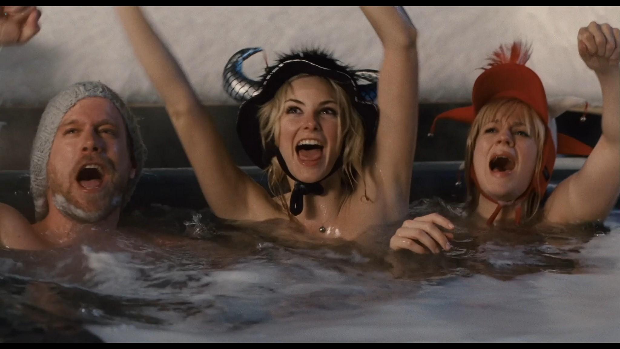 Felicity Jones nude covered Tamsin Egerton sexy Chalet Girl 2011 HD 1080p BluRay 009