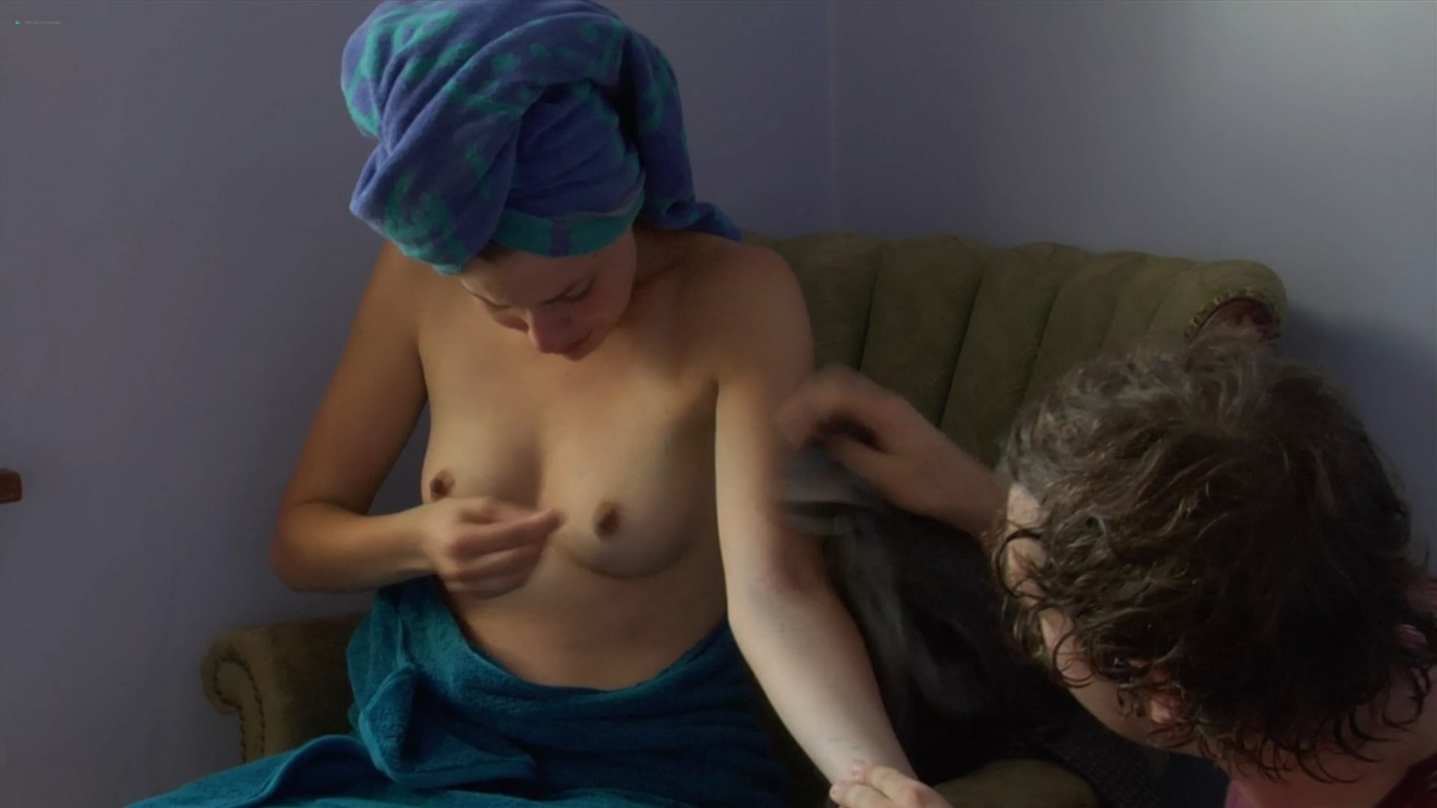 Greta Gerwig nude topless and bush Hannah Takes the Stairs 2007 HD 1080p Web 004