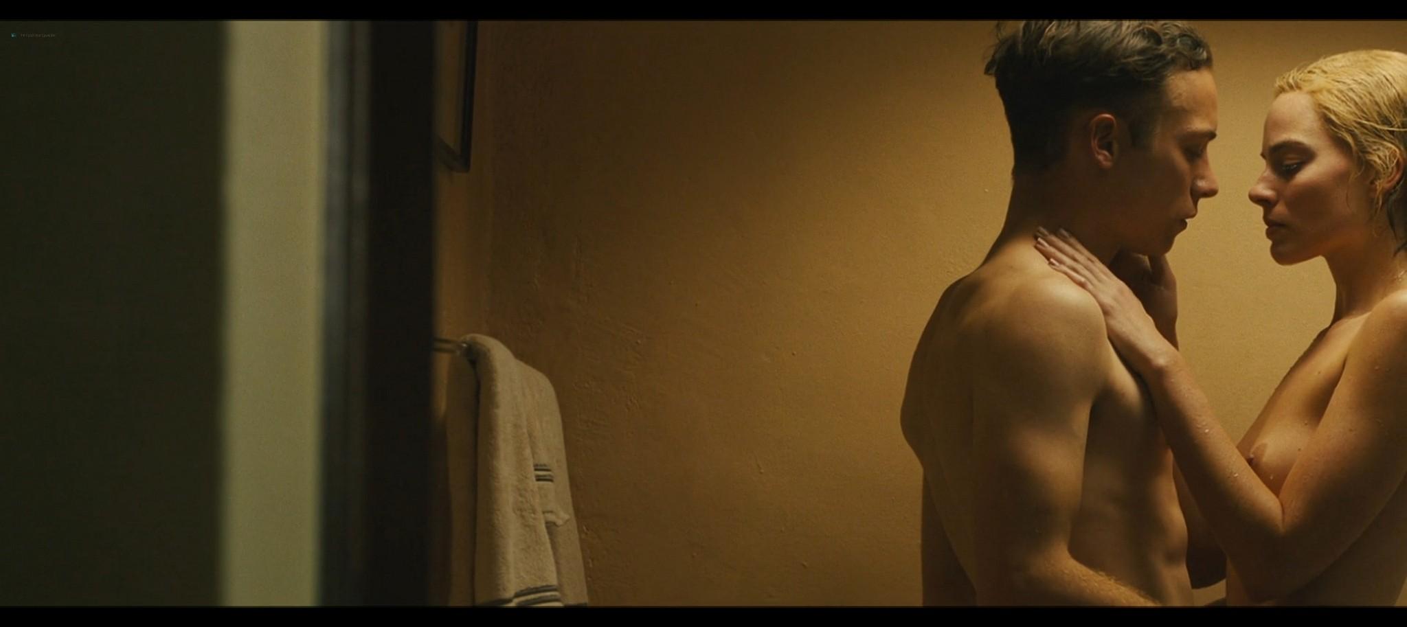 Margot Robbie nude topless Dreamland 2020 HD 1080p Web005