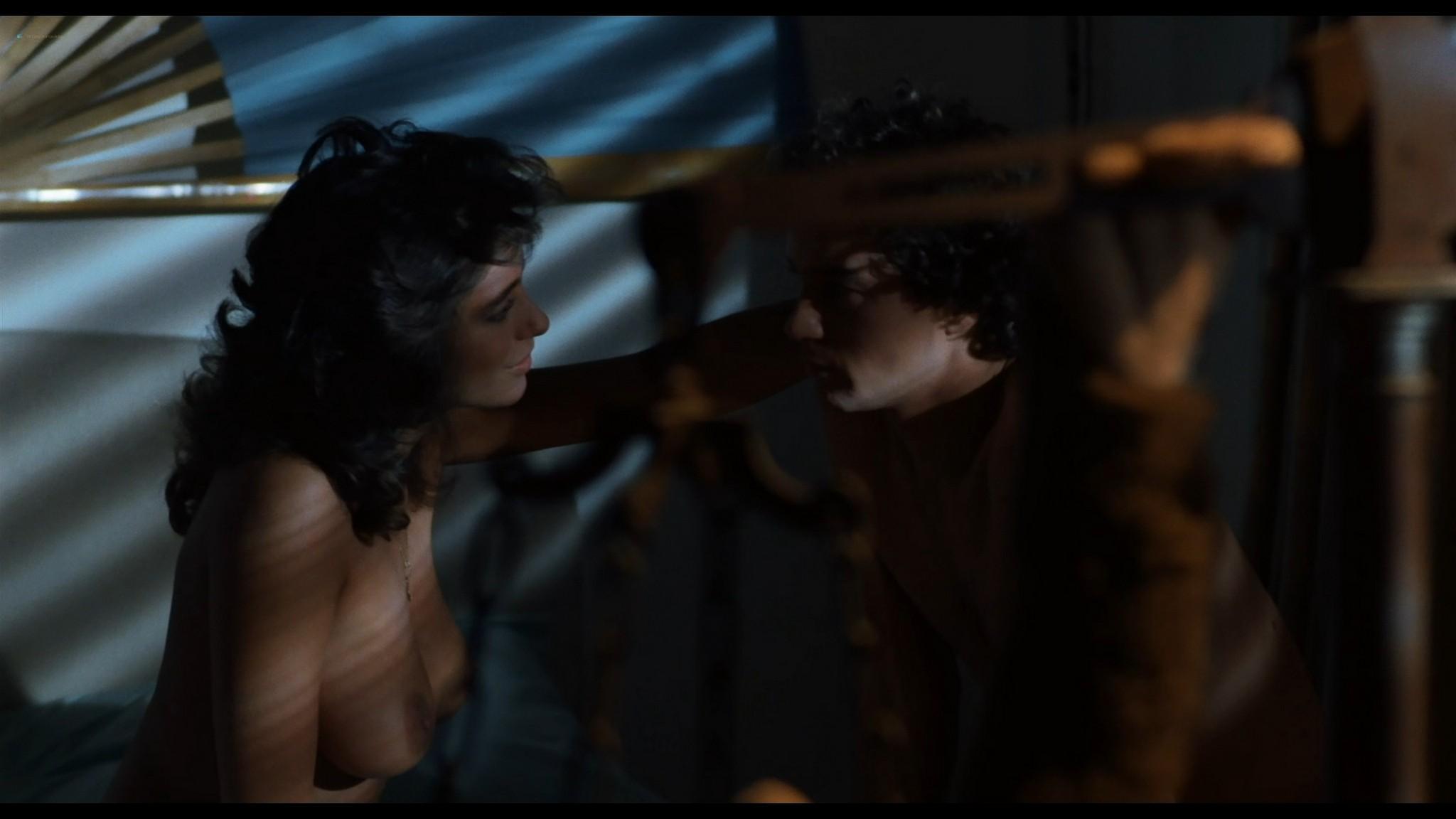 Serena Grandi nude sex Sabrina Salerno Trine Michelsen all nude Delirium 1987 HD 1080p BluRay REMUX 011