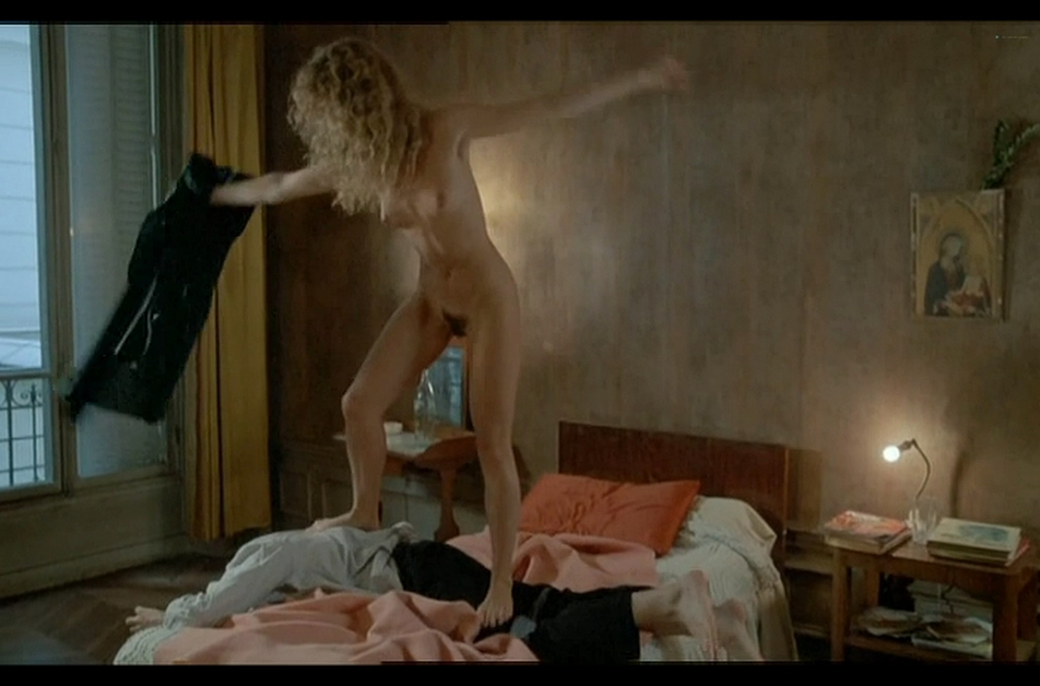 Sophie Marceau nude full frontal Christiane Jean nude too Lamour braque FR 1985 DvDrip 008