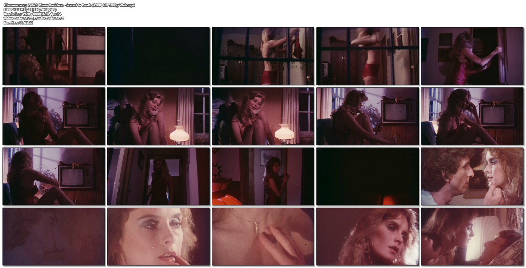 Diana Davidson nude full frontal Scared to Death 1980 HD 1080p Web 12