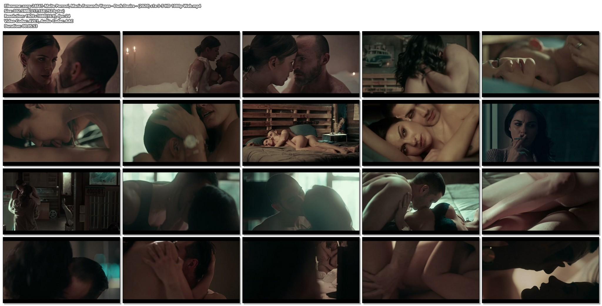 Maite Perroni nude lot of sex Maria Fernanda Yepes nude Dark Desire 2020 s1e 3 5 HD 1080p Web 18