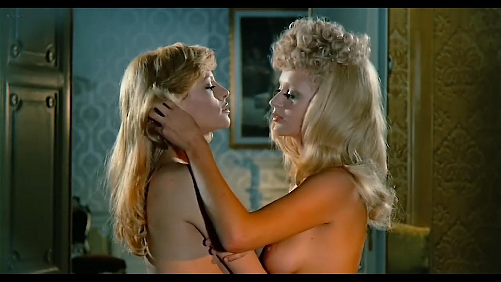 Joey Heatherton nude topless Sybil Danning Karin Schubert and others nude Bluebeard 1972 720p 05