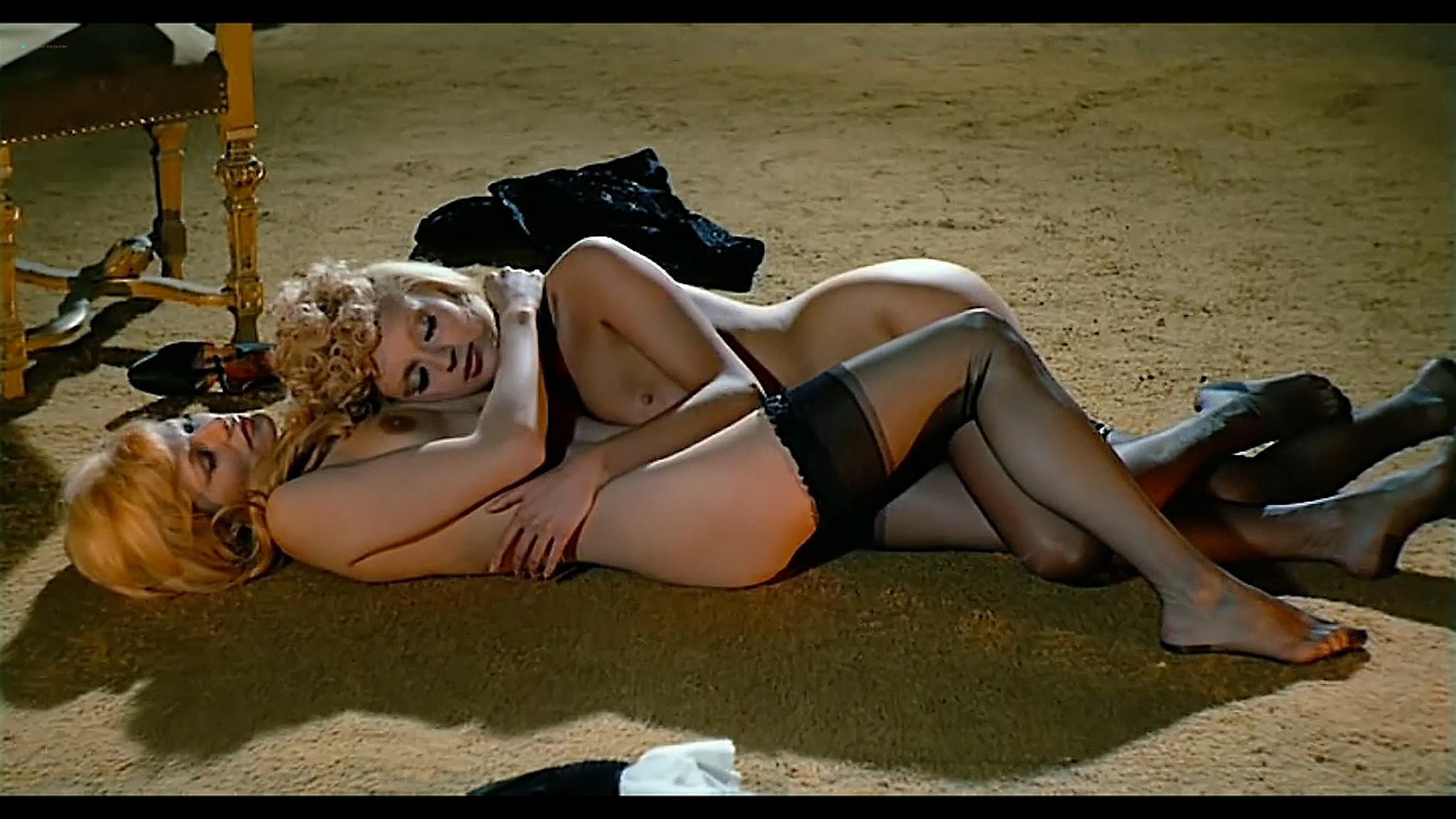 Joey Heatherton nude topless Sybil Danning Karin Schubert and others nude Bluebeard 1972 720p 06