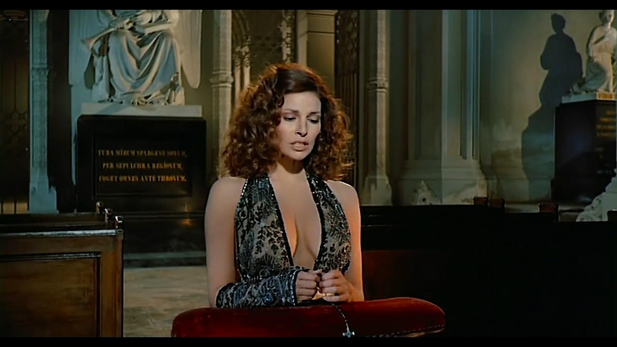Joey Heatherton nude topless Sybil Danning Karin Schubert and others nude Bluebeard 1972 720p 07