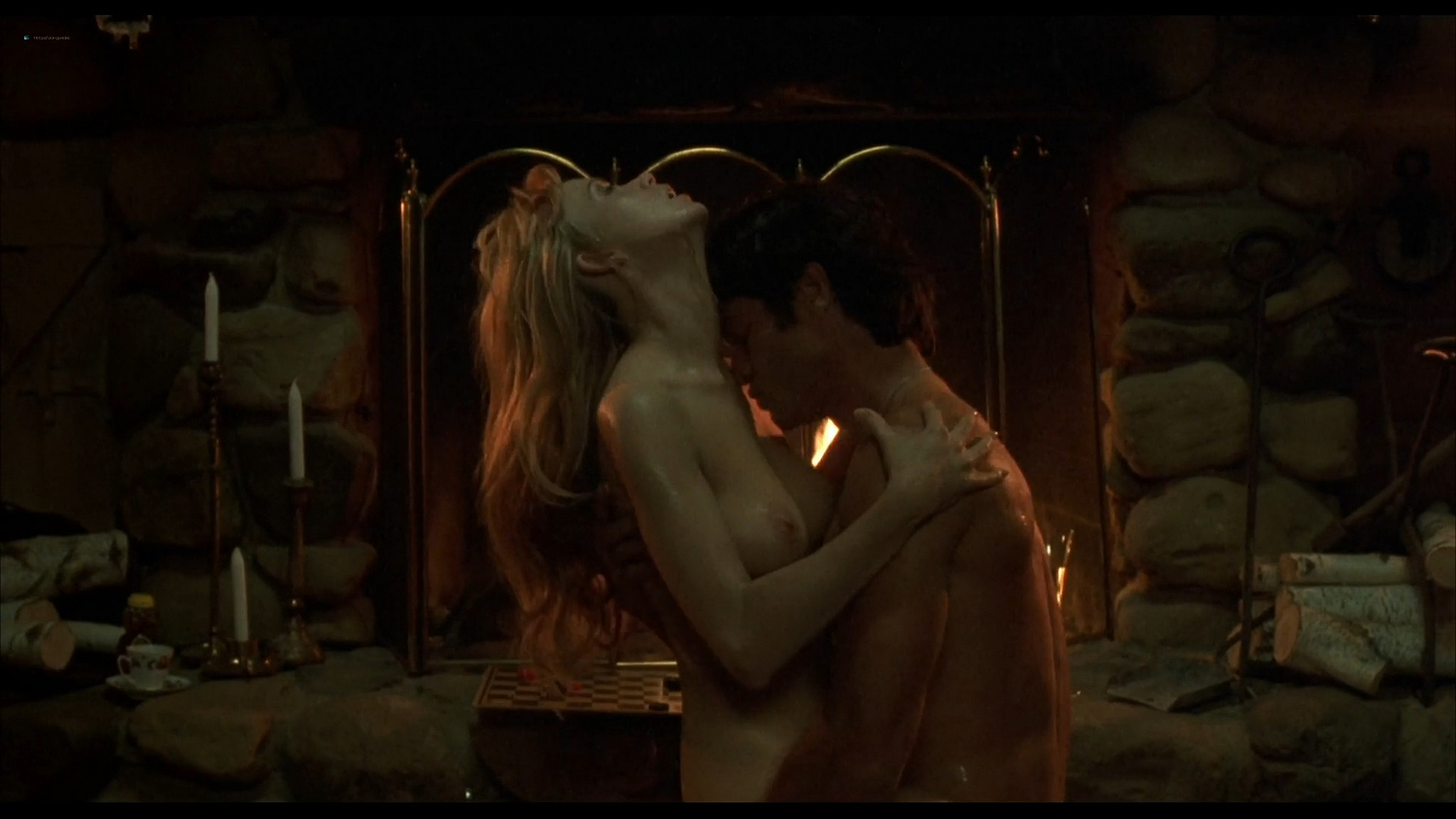Lysette Anthony nude sex and Ashlie Rhey topless Save Me 1993 HD 1080p Web 17