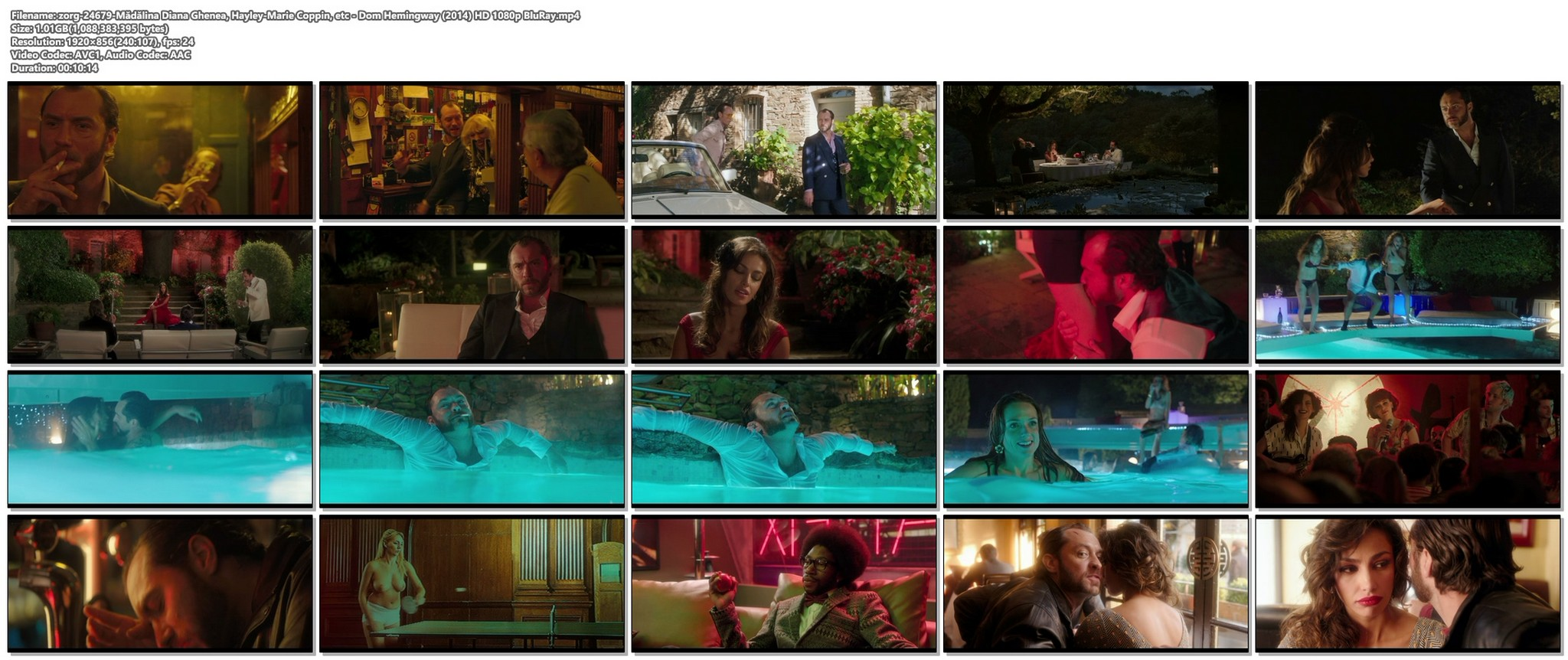 Madalina Diana Ghenea sexy Hayley Marie Coppin nude others nude and sexy Dom Hemingway 2014 HD 1080p BluRay20
