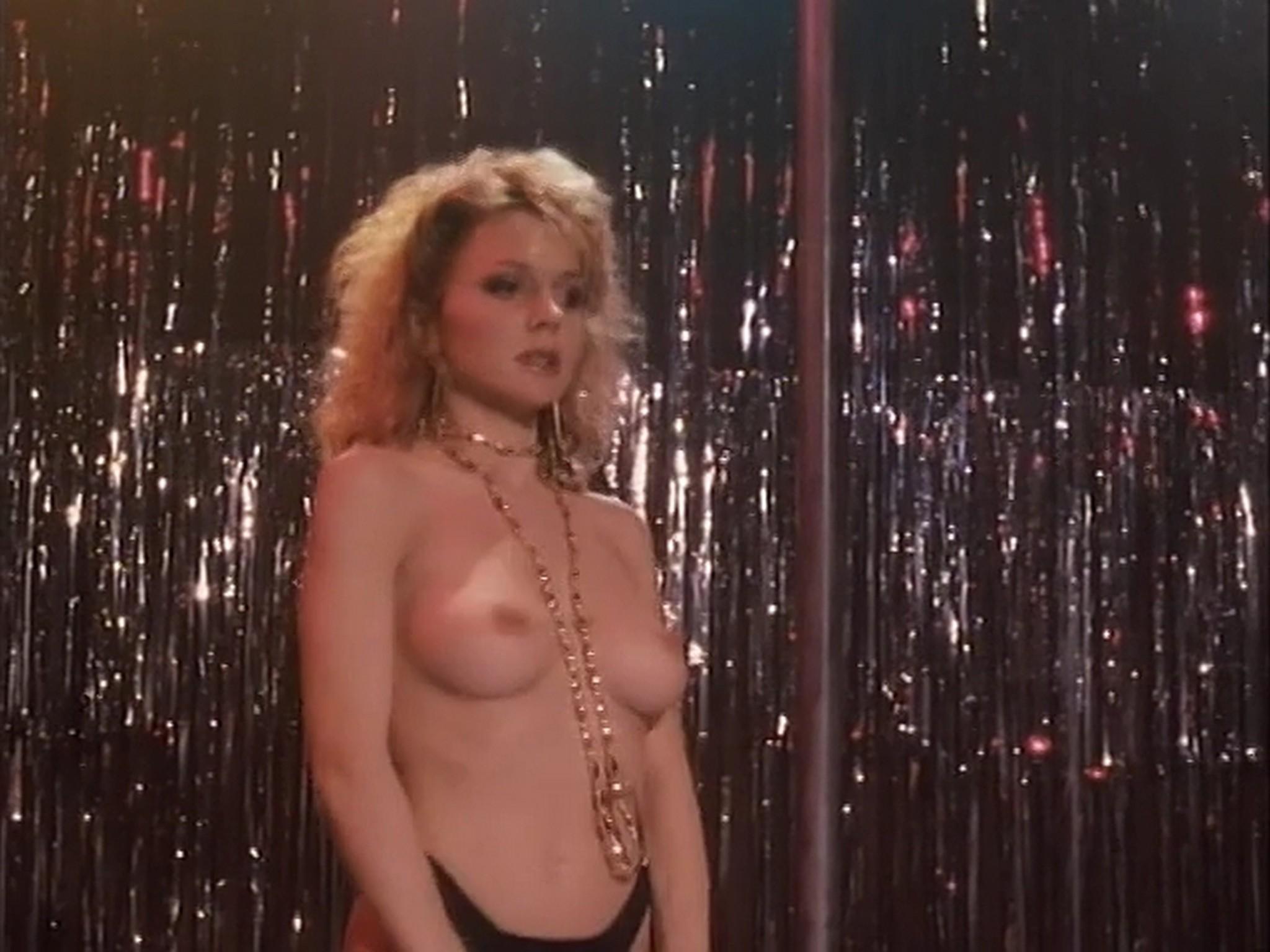 Barbara Alyn Woods nude Catya Sassoon Jill Pierce nude too as strippers Dance with Death 1991 8