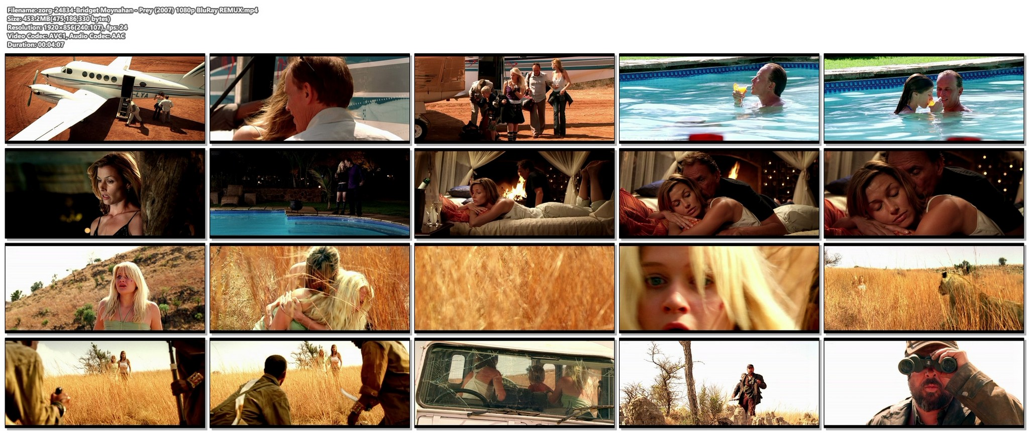 Bridget Moynahan hot and sexy Prey 2007 1080p BluRay REMUX 13