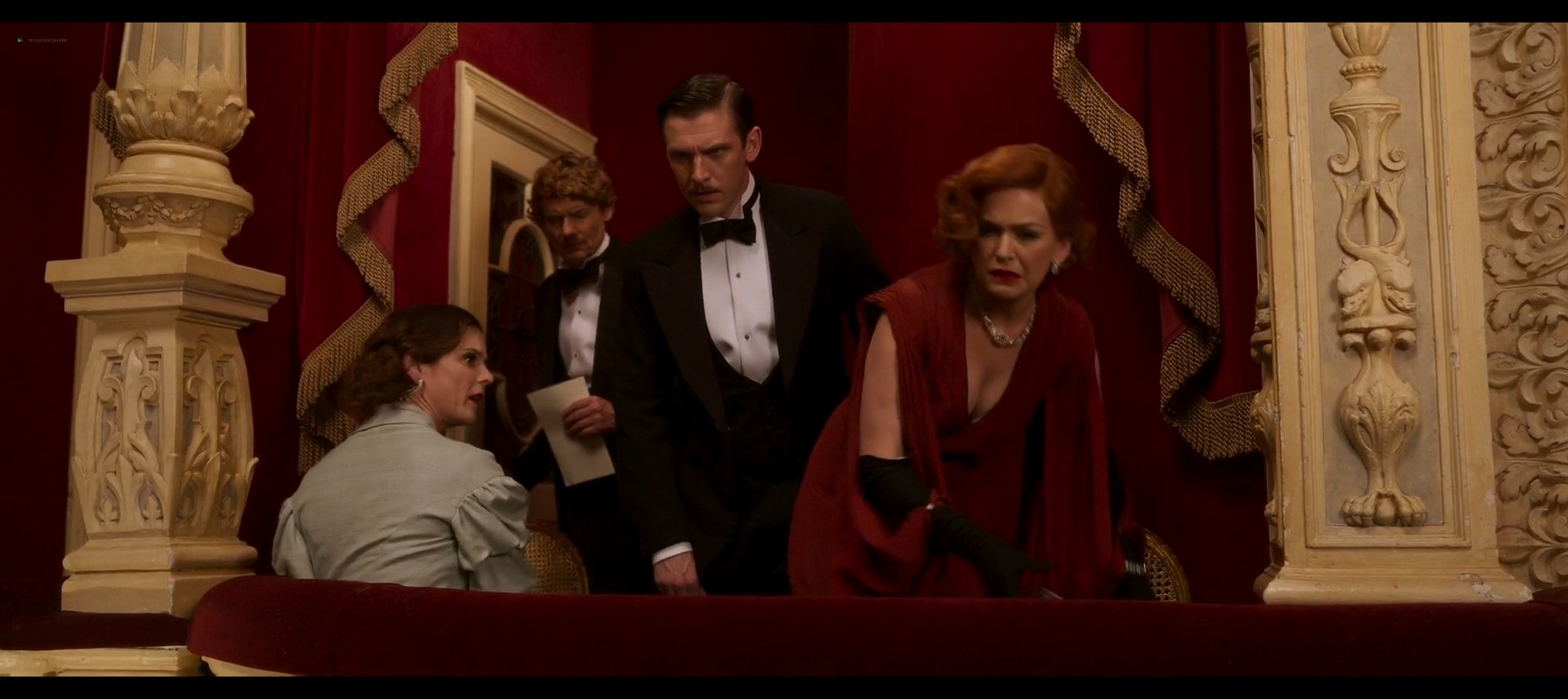 Isla Fisher hot and sexy Blithe Spirit 2020 1080p Web 4