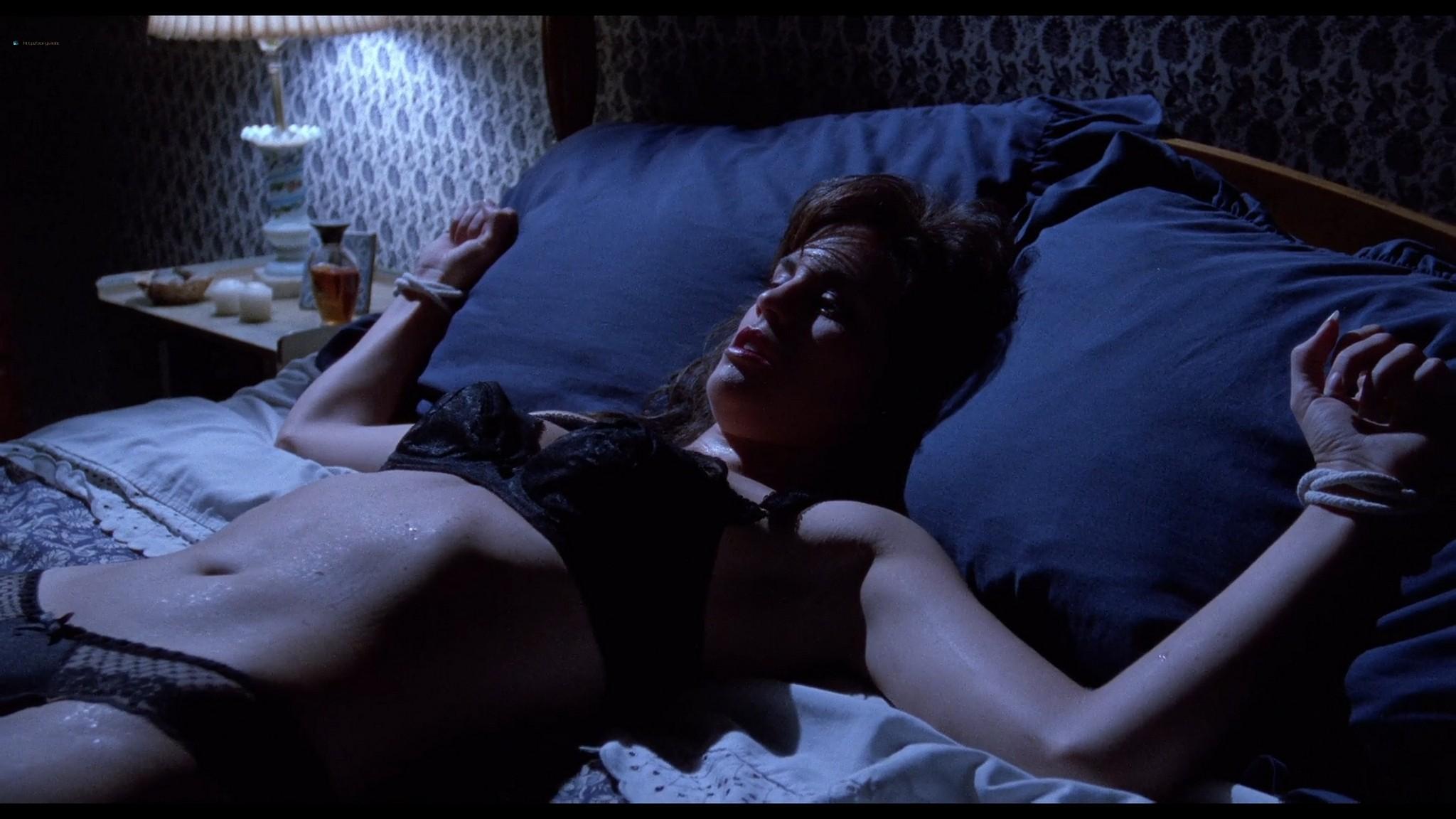 Jill Pierce nude in the shower and bound Darkroom 1988 1080p BluRay 12