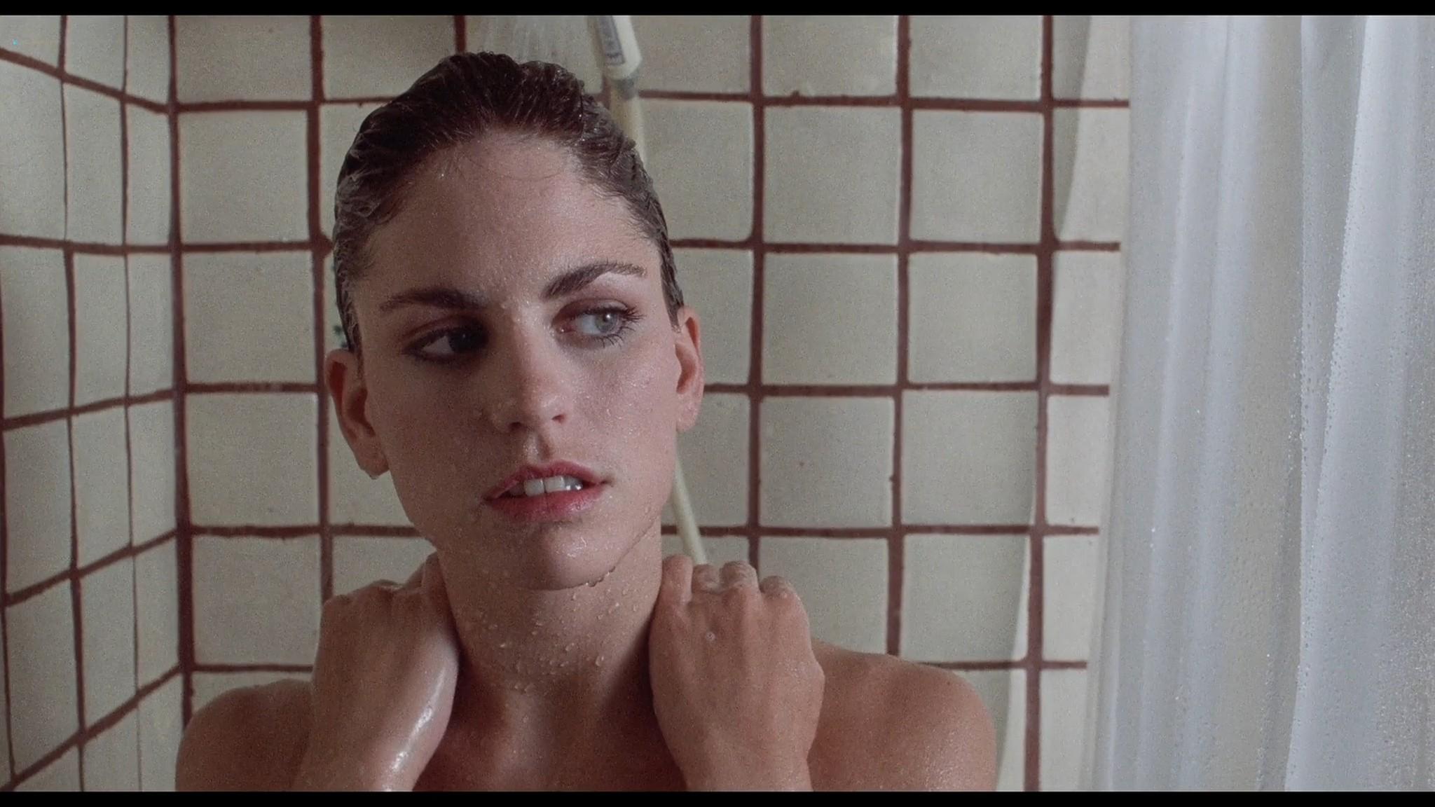 Jill Pierce nude in the shower and bound Darkroom 1988 1080p BluRay 6