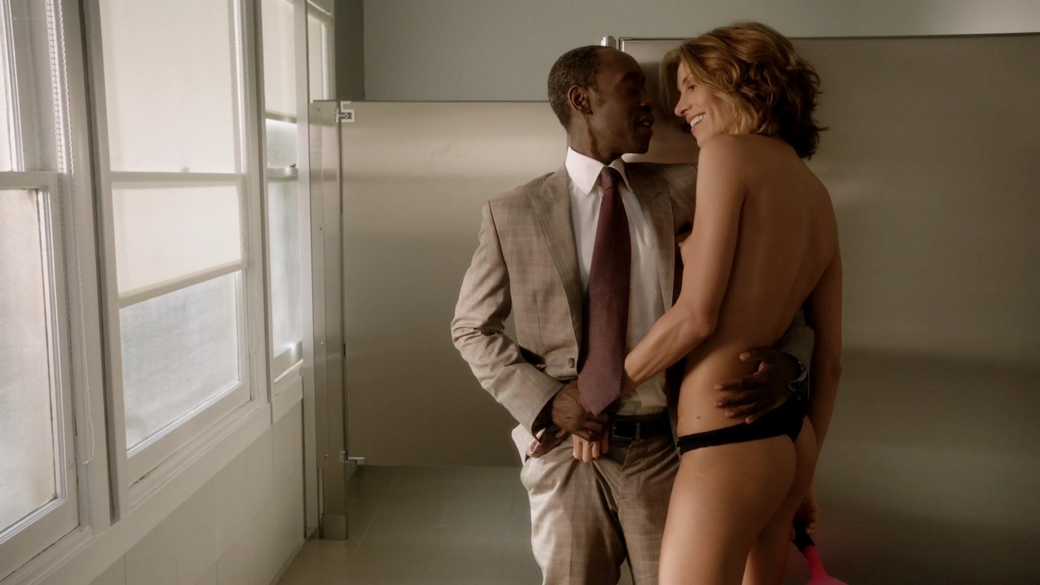 Megalyn Echikunwoke nude topless and Dawn Olivieri nude too House of Lies 2012 s1e7 1080p Web 8