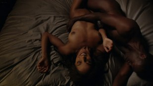 Megalyn Echikunwoke nude topless and giving oral - House of Lies (2012) s1e6 1080p Web