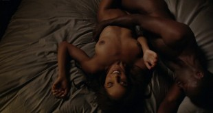 Megalyn Echikunwoke nude topless and giving oral House of Lies 2012 s1e6 1080p Web 8