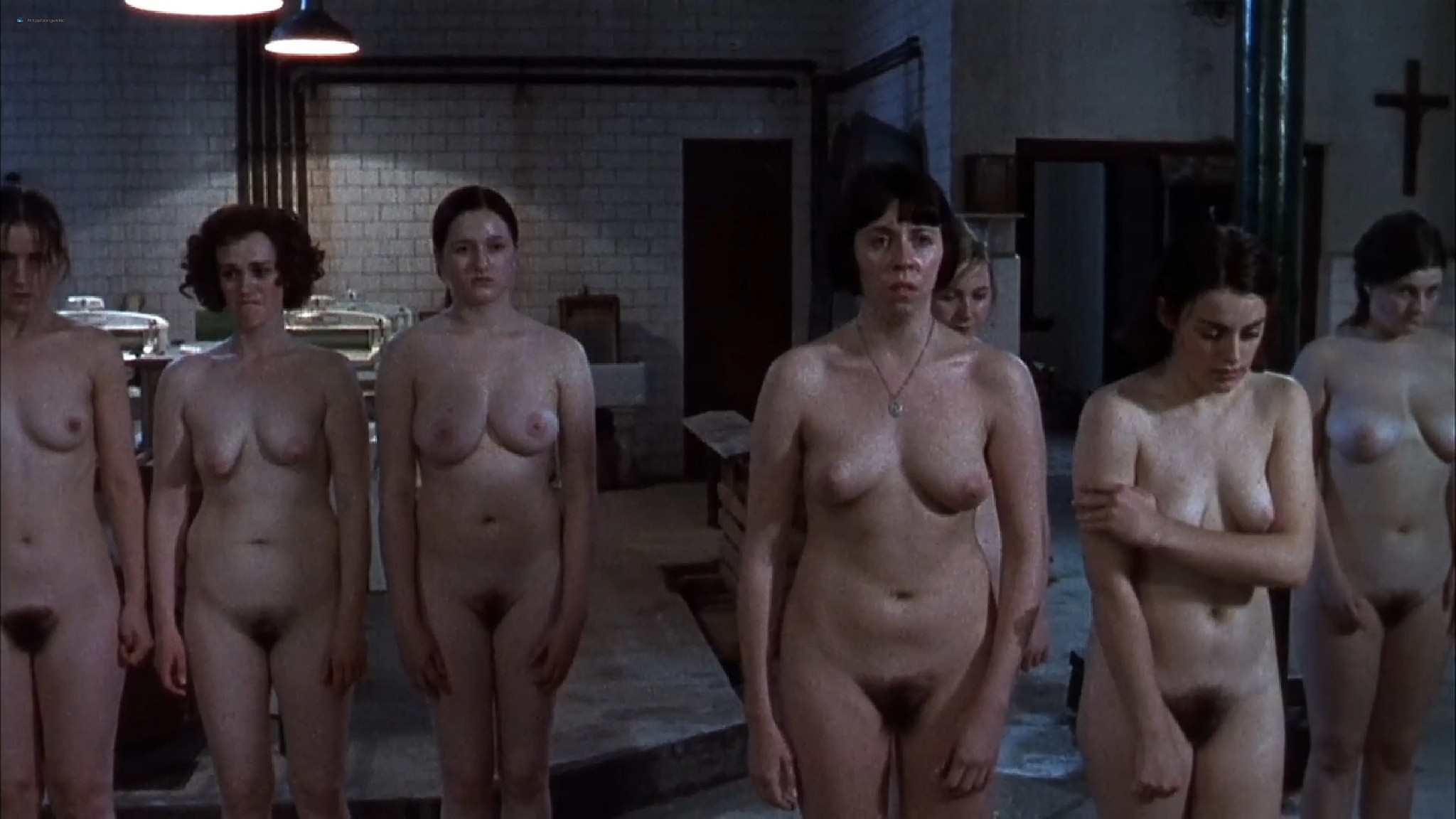 Nora Jane Noone nude full frontal Anne Marie Duff and another full frontal too The Magdalene Sisters 2002 1080p Web 10