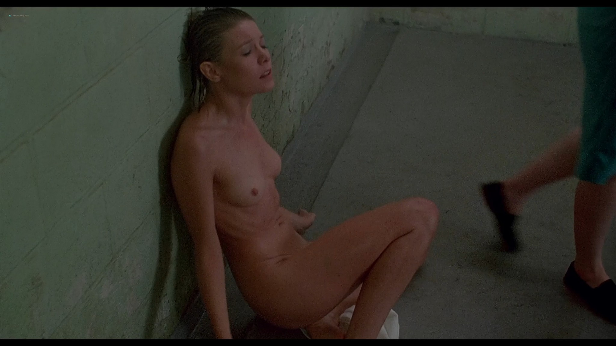 Shari Shattuck nude in shower Lisa London and others nude The Naked Cage 1986 HD 1080p BluRay 18