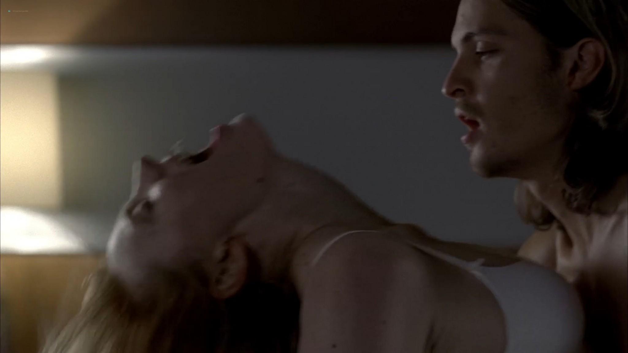Anna Paquin nude topless and Deborah Ann Woll hot sex – True Blood 2013 s6e7 HD 1080p 15