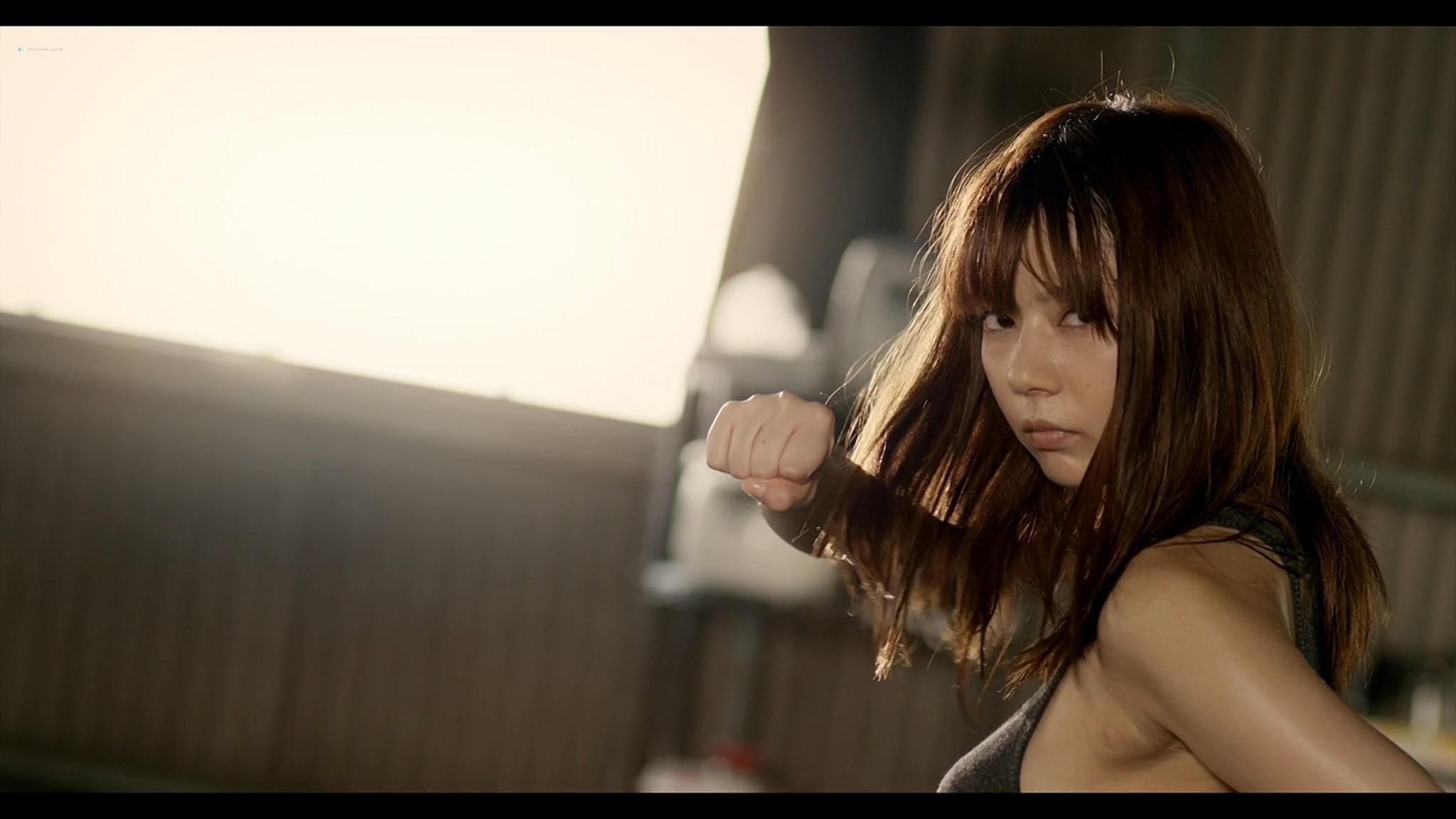 Asami Tada nude full frontal Yuria Haga Haruka Ayase nude too Girls Blood JP 2014 1080p BluRay