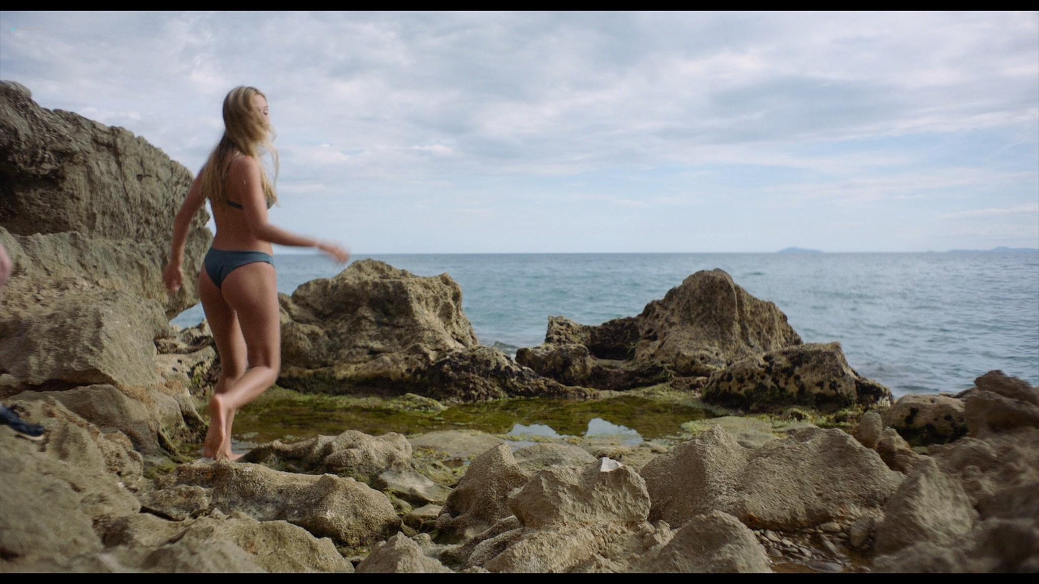Bianca Cedrone sexy Hannah van der Westhuysen Emma Curtis hot A Little Italian Vacation 2021 1080p Web 8