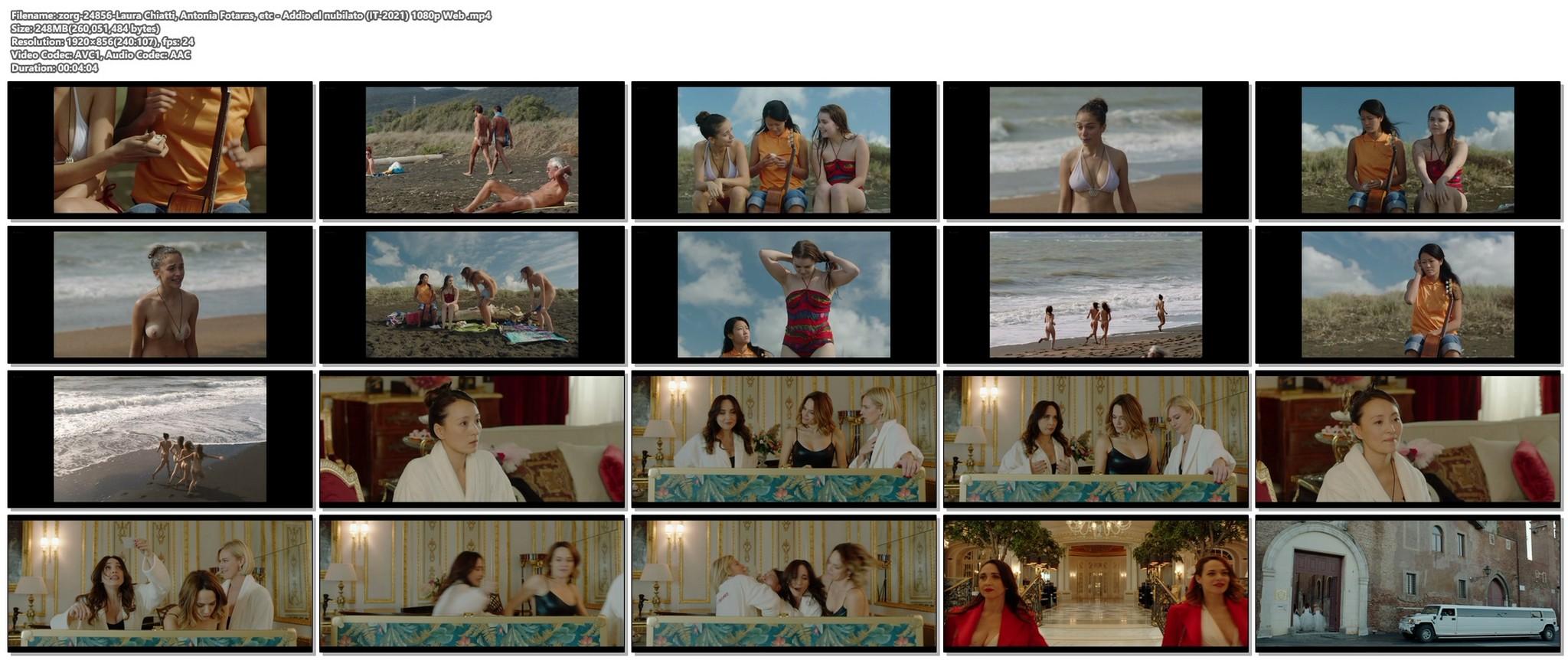Laura Chiatti nude Antonia Fotaras and others nude bush and topless Addio al nubilato IT 2021 1080p Web 18