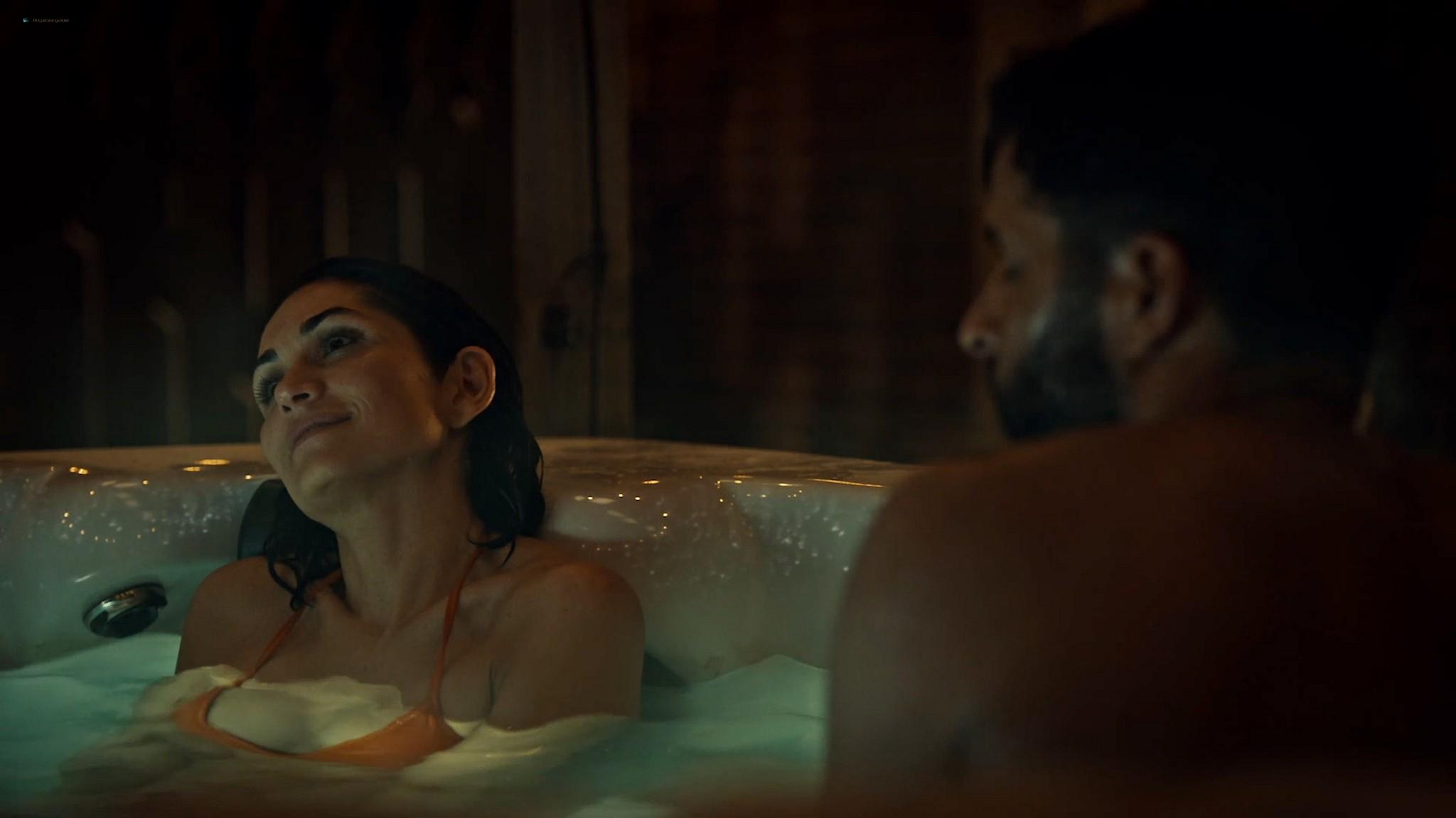 Lela Loren nude wet and sex American Gods 2021 s3e7 1080p Web 2