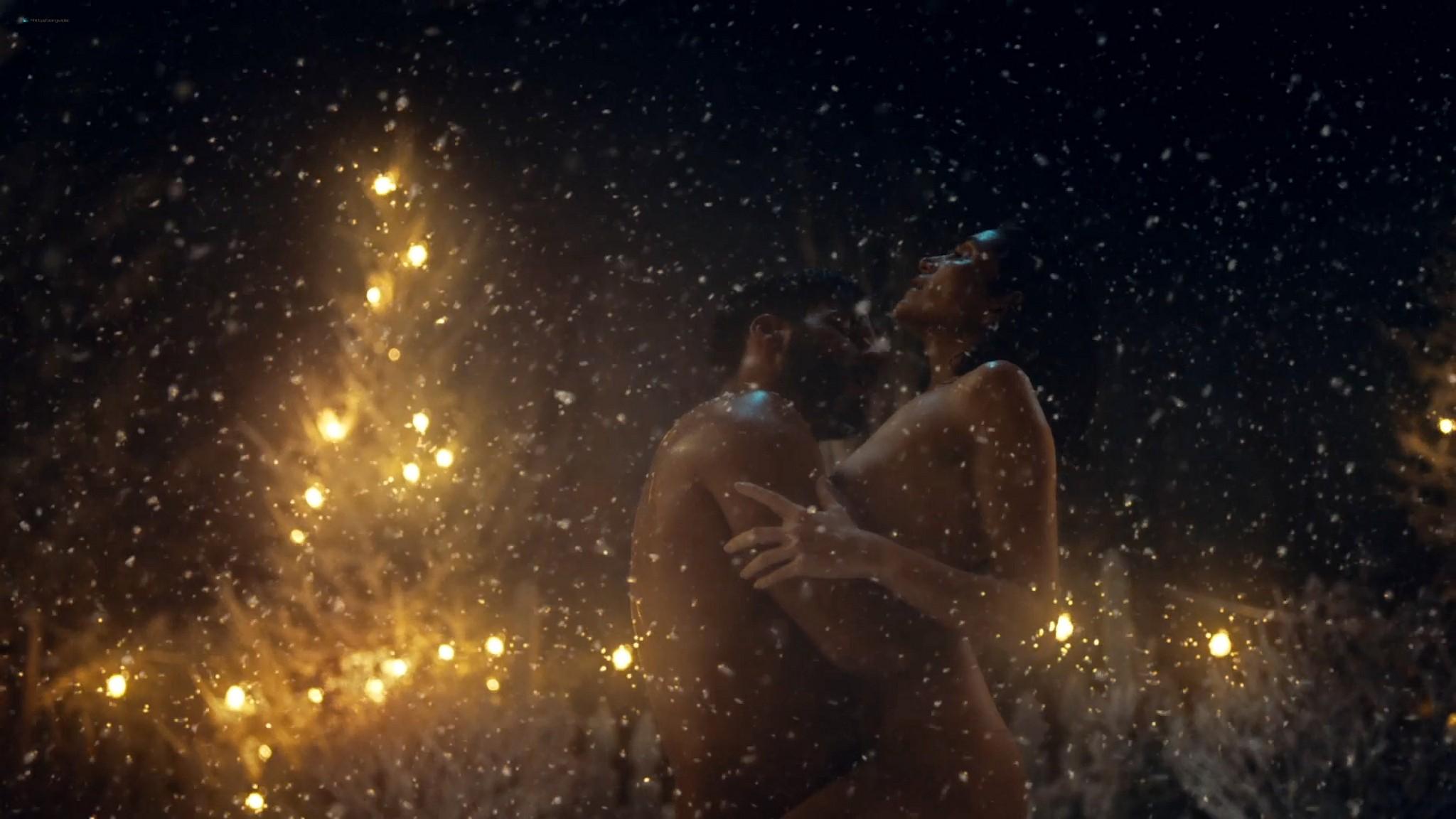Lela Loren nude wet and sex American Gods 2021 s3e7 1080p Web 8