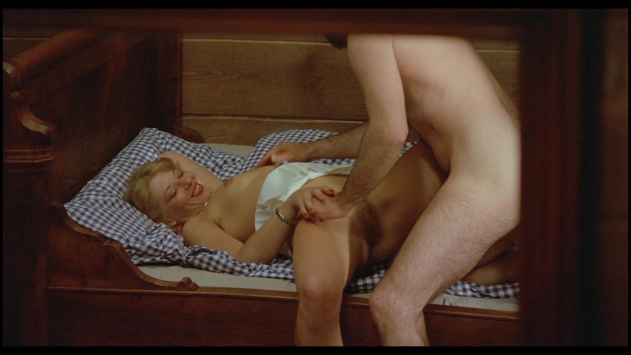 Marianne Aubert Michaela Larsen etc nude explicit sex Sechs Schwedinnen auf der Alm 1983 1080p BluRay 11