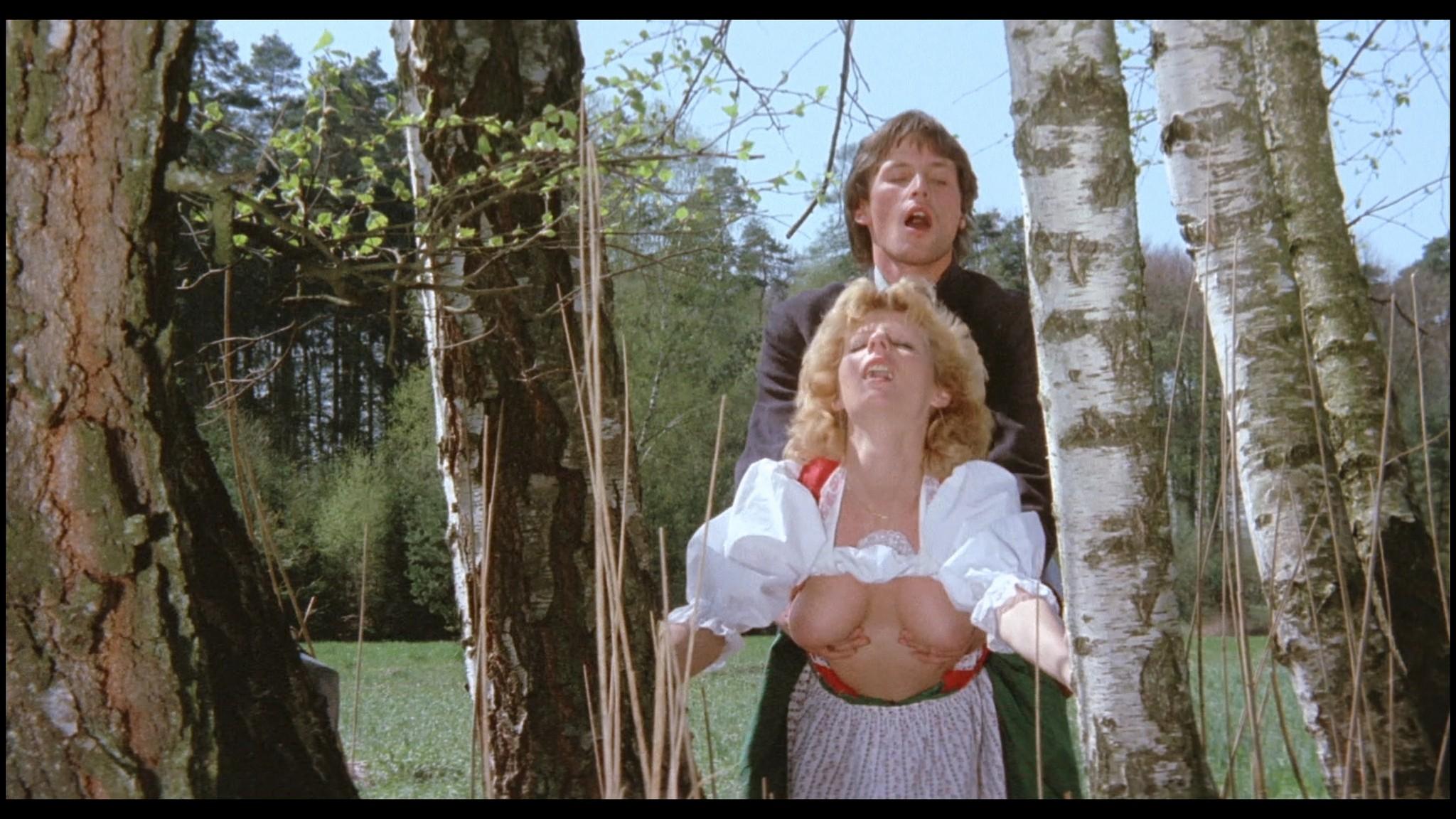 Marianne Aubert Michaela Larsen etc nude explicit sex Sechs Schwedinnen auf der Alm 1983 1080p BluRay 17