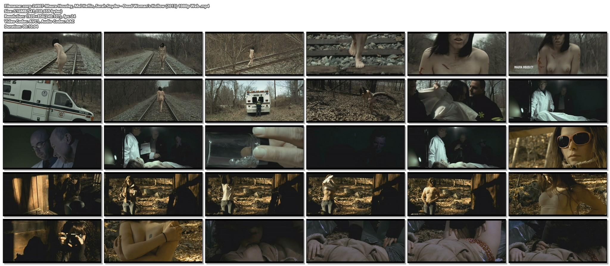 Maura Housley nude full frontal Mel Heflin nude bush too Dead Womans Hollow 2013 1080p Web 14