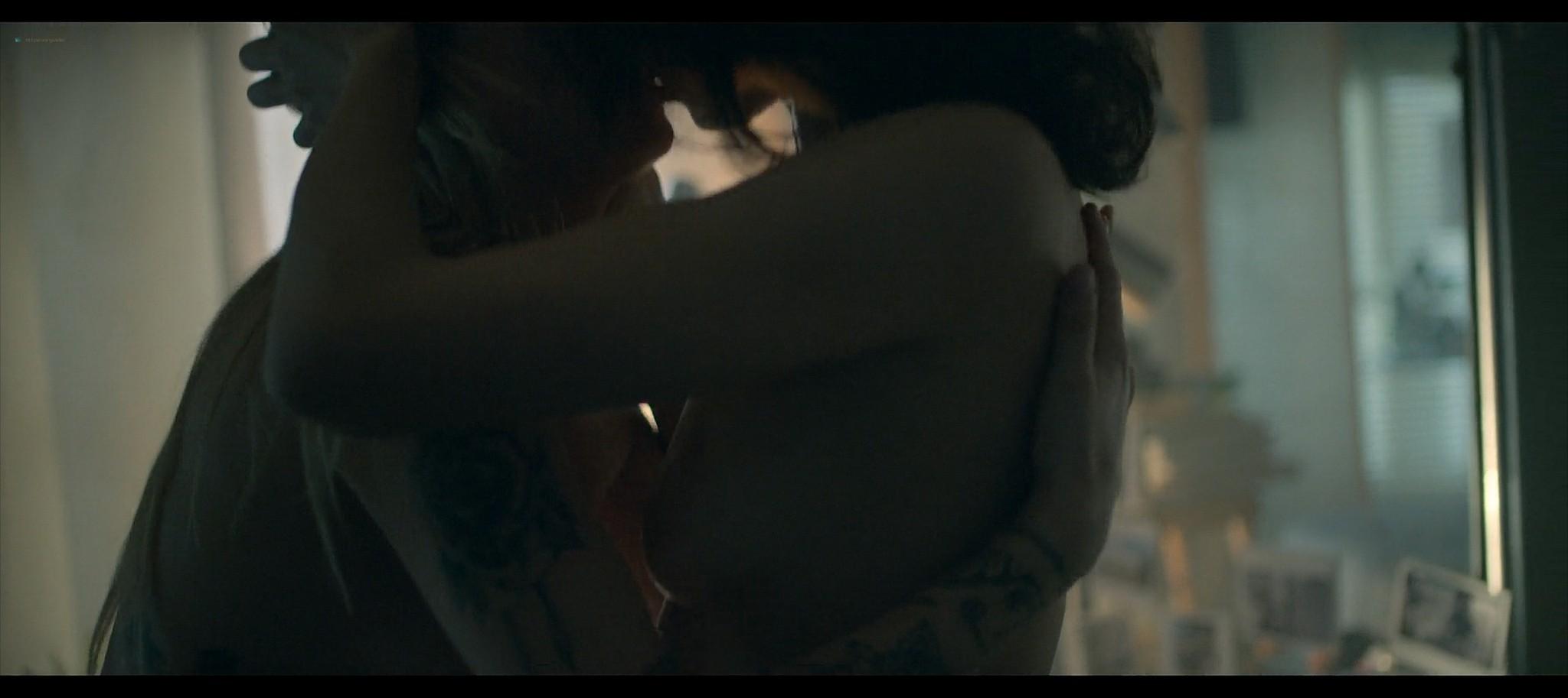 Olga Kurylenko nude lesbian sex with Marine Duvivier Sentinelle 2021 1080p Web 9