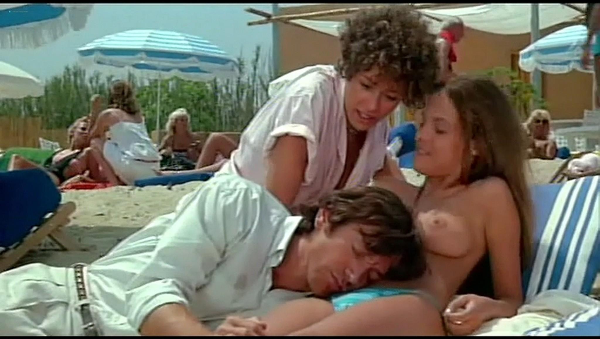 Valerie Kaprisky nude full frontal Caroline Cellier and others nude L annee des meduses 1984