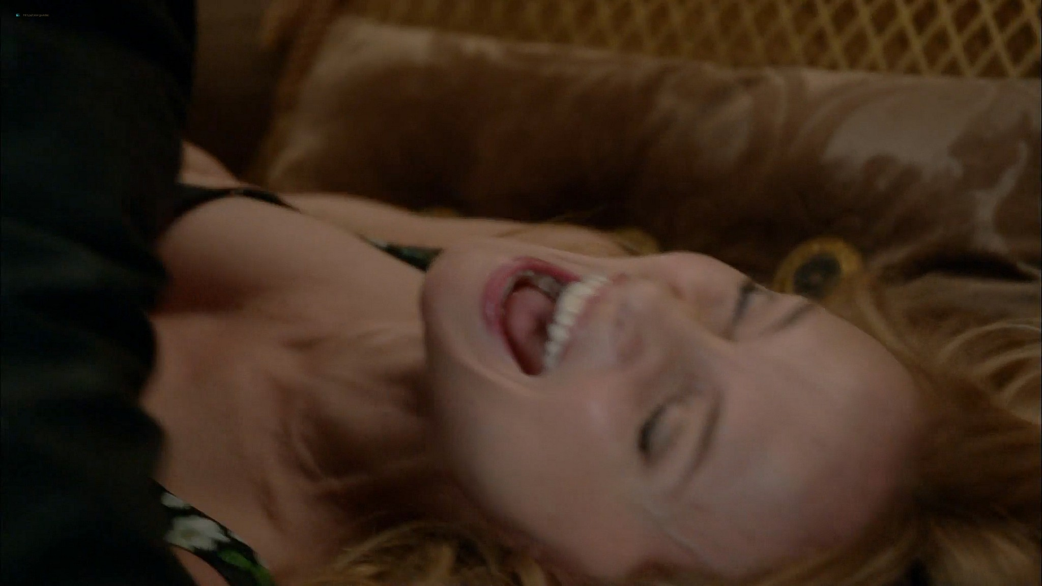 Brigette Davidovici nude butt and topless and Heather Graham hot Californication 2014 s7e5 e6 HD 1080p 9