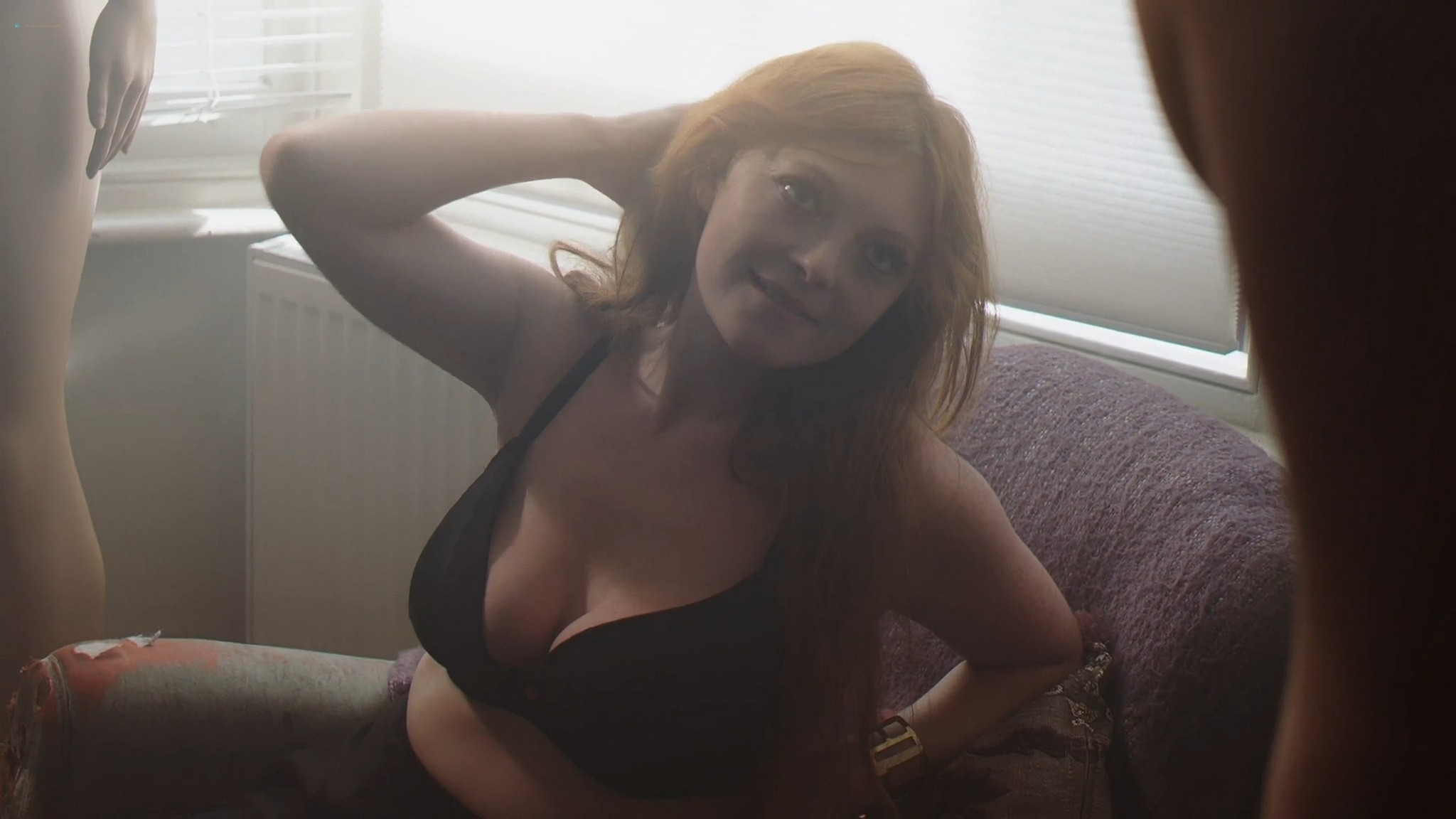 Kate Palmerston nude and sex Claudine Helen nude threesome Assistant 2021 1080p Web 3