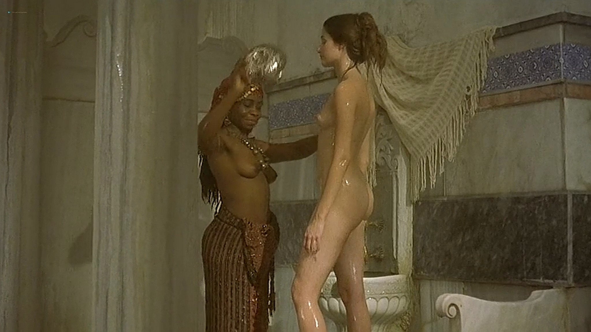 Marie Gillain nude bush Gaia Narcisi nude too Harem Suare 1999 DVDrip
