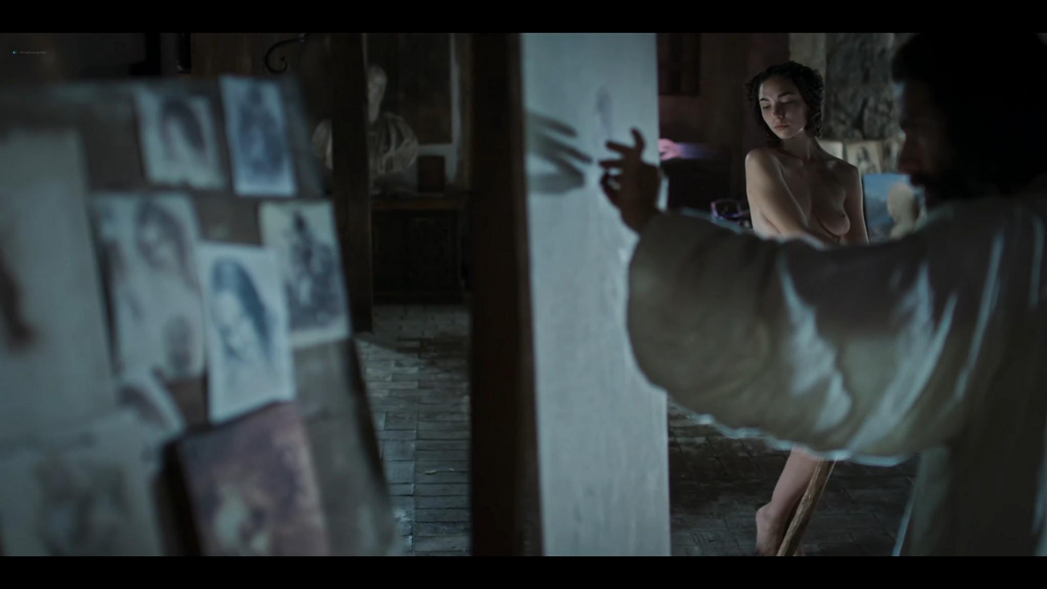 Matilda De Angelis nude full frontal Leonardo 2021 S1 1080p Web 16
