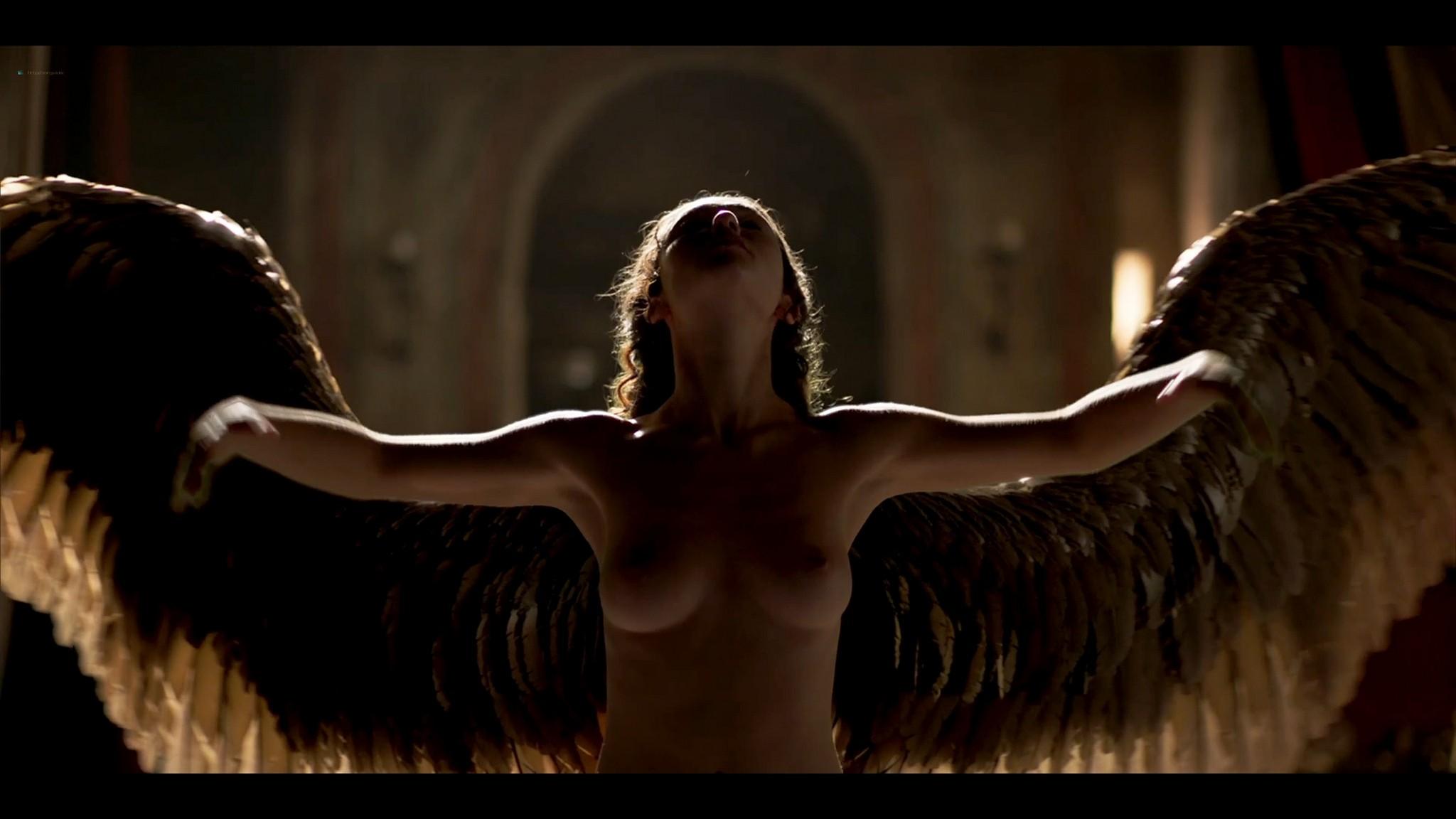 Matilda De Angelis nude full frontal Leonardo 2021 S1 1080p Web 8