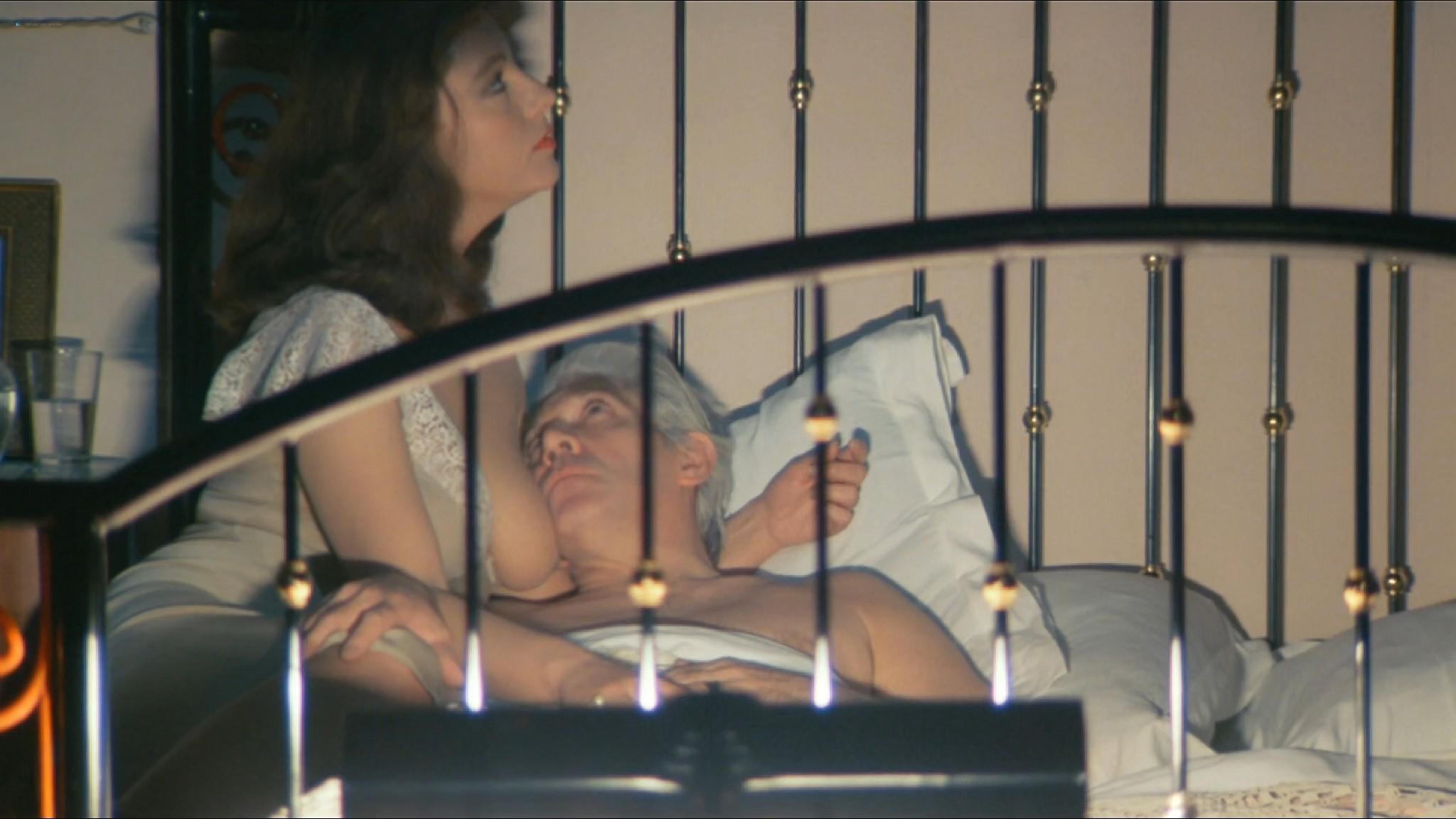 Stefania Sandrelli nude topless bush explicit labia in Tinto Brass style The Key 1983 HD 1080p BluRay 15