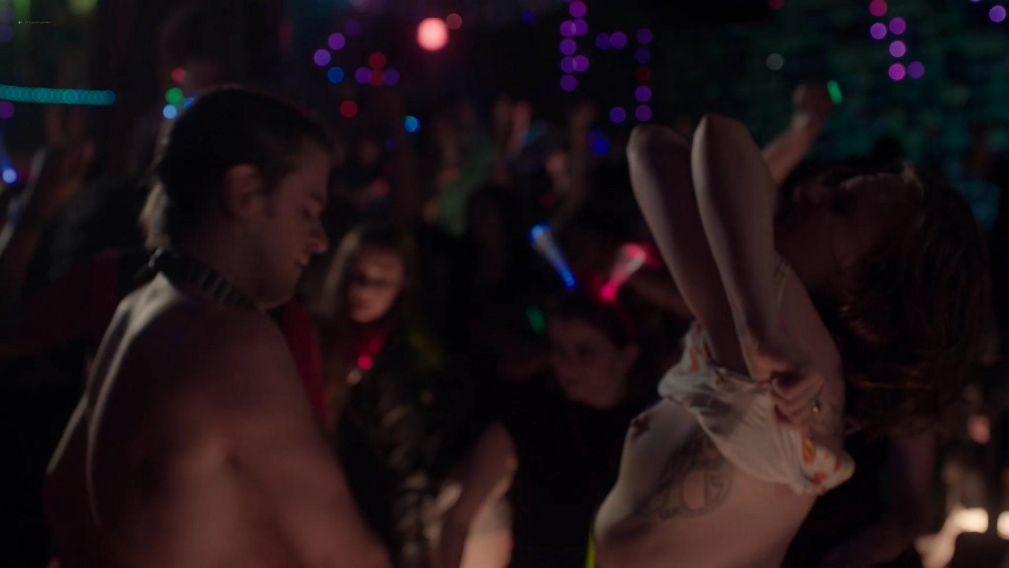 Allison Williams sex Lena Dunham nude Zosia Mamet hot Jemima Kirke nude Girls 2012 s2e1 5 1080p Web 5