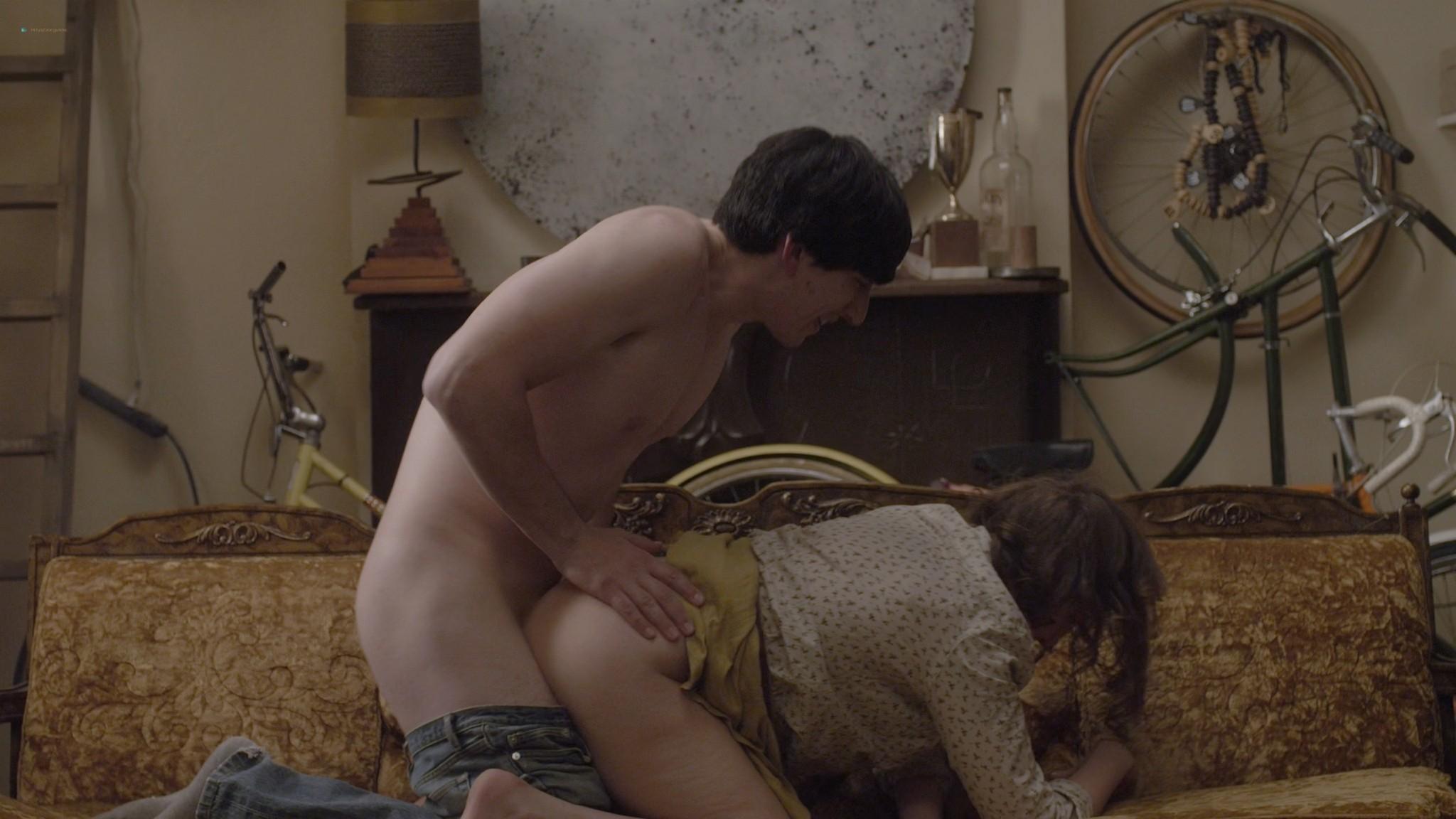 Allison Williams sex doggy style Lena Dunham nude Girls 2012 s1e1 2 1080p Web 7