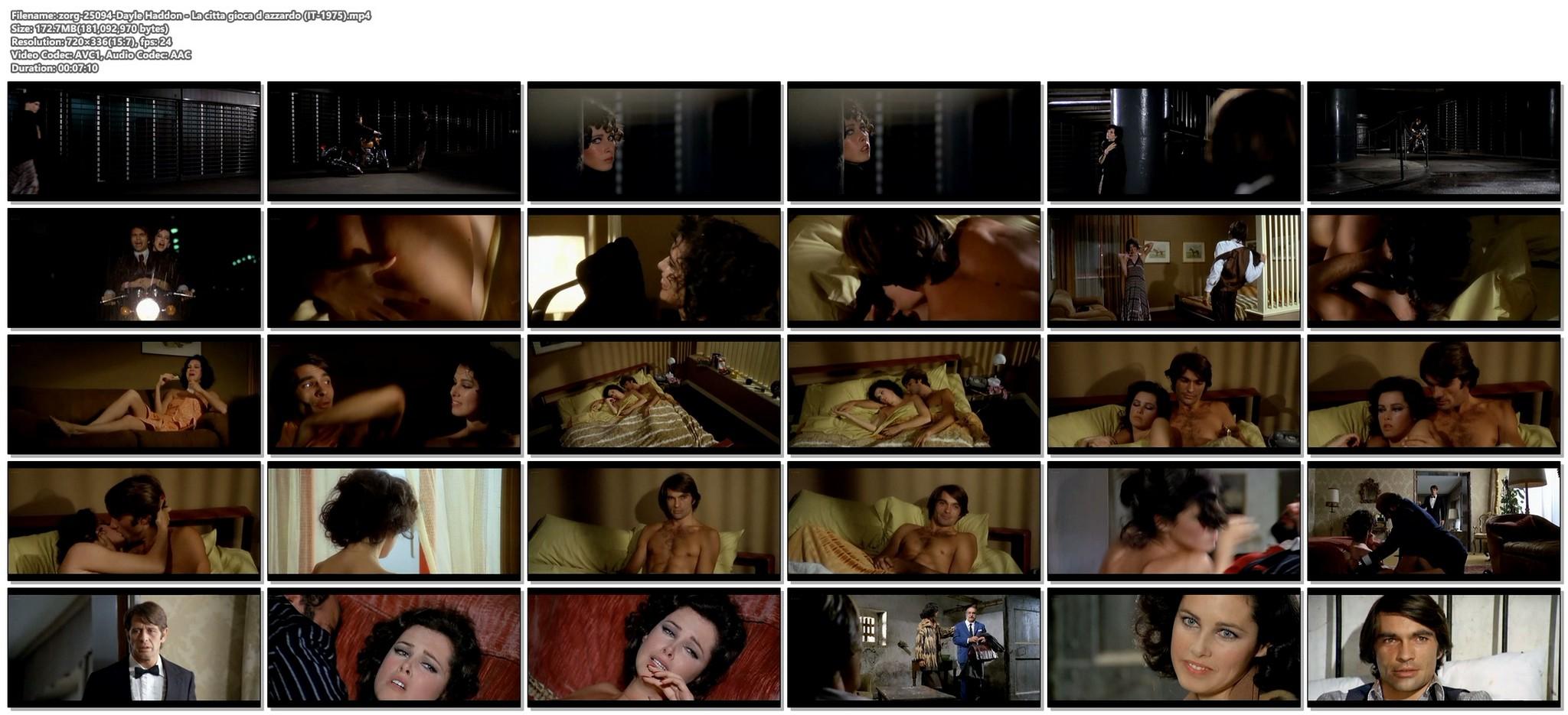 Dayle Haddon nude some sex La citta gioca d azzardo IT 1975 12