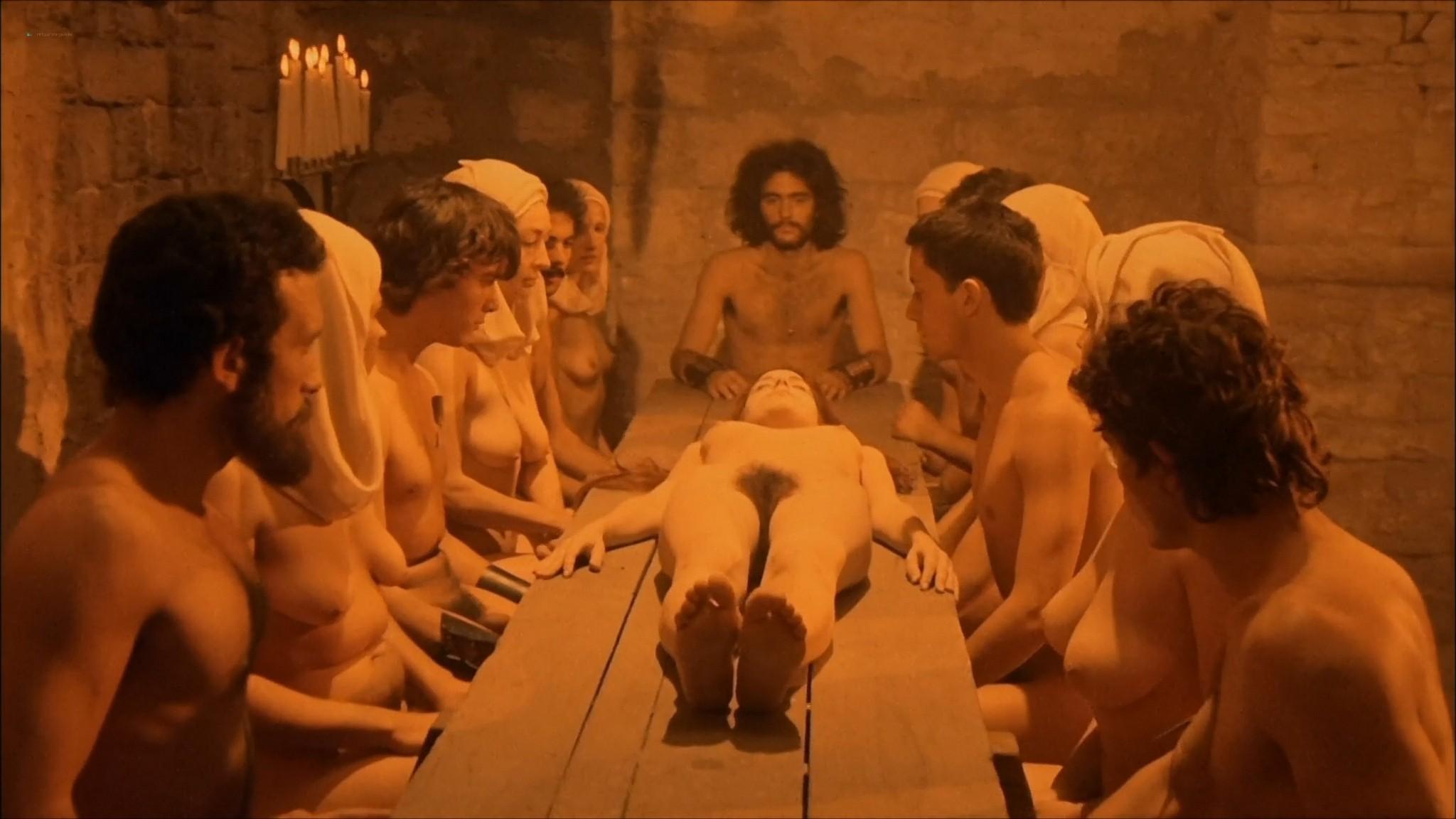 Florinda Bolkan nude Raika Juri nude full frontal and sex Flavia the Heretic 1974 1080p BluRay 11