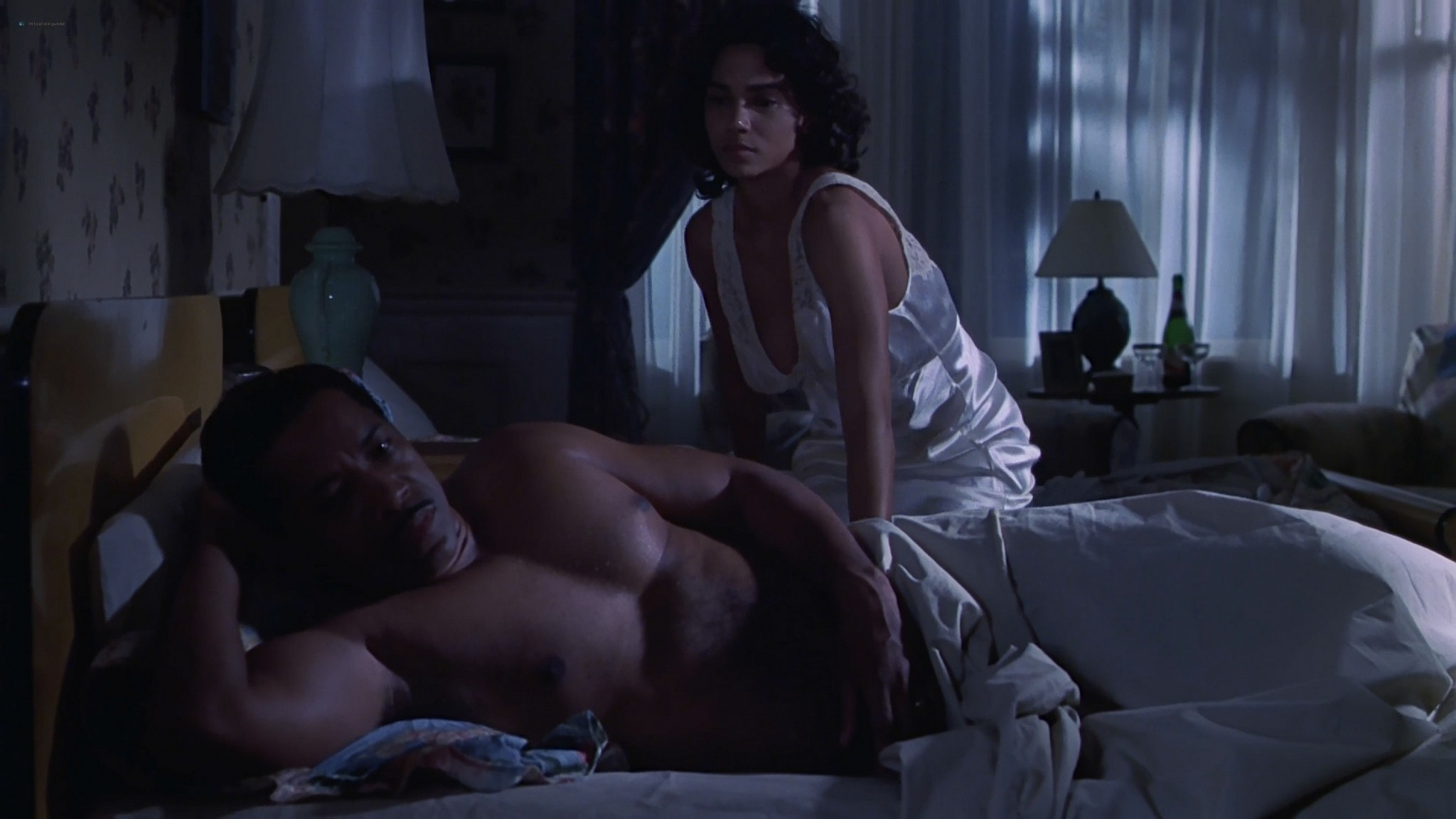 Halle Berry nude nip slip Introducing Dorothy Dandridge 1999 1080p Web 9