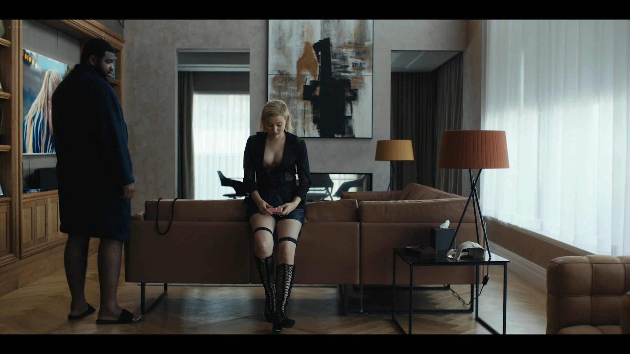Julia Goldani Telles hot and sex The Girlfriend Experience 2021 s3e4 1080p Web 5
