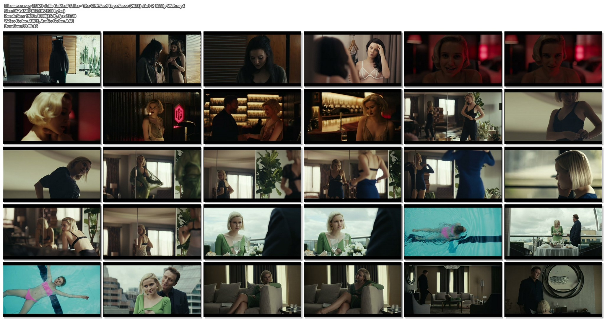Julia Goldani Telles hot and sexy The Girlfriend Experience 2021 s3e1 2 1080p Web 19