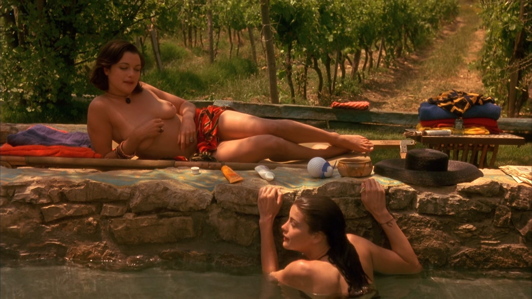 Liv Tyler nude Rachel Weisz Sinead Cusack nude and hot Stealing Beauty 1996 1080p Web 6