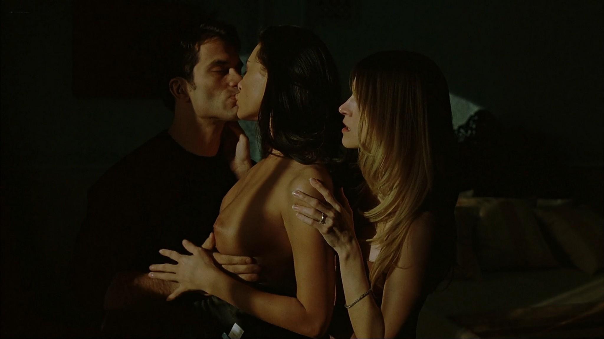 Lori Heuring nude sex threesome Zita Gorog Francesca Kingdon Judit Viktor and Sandra Shine all nude full frontal 8MM 2 2005 1080p Web 6