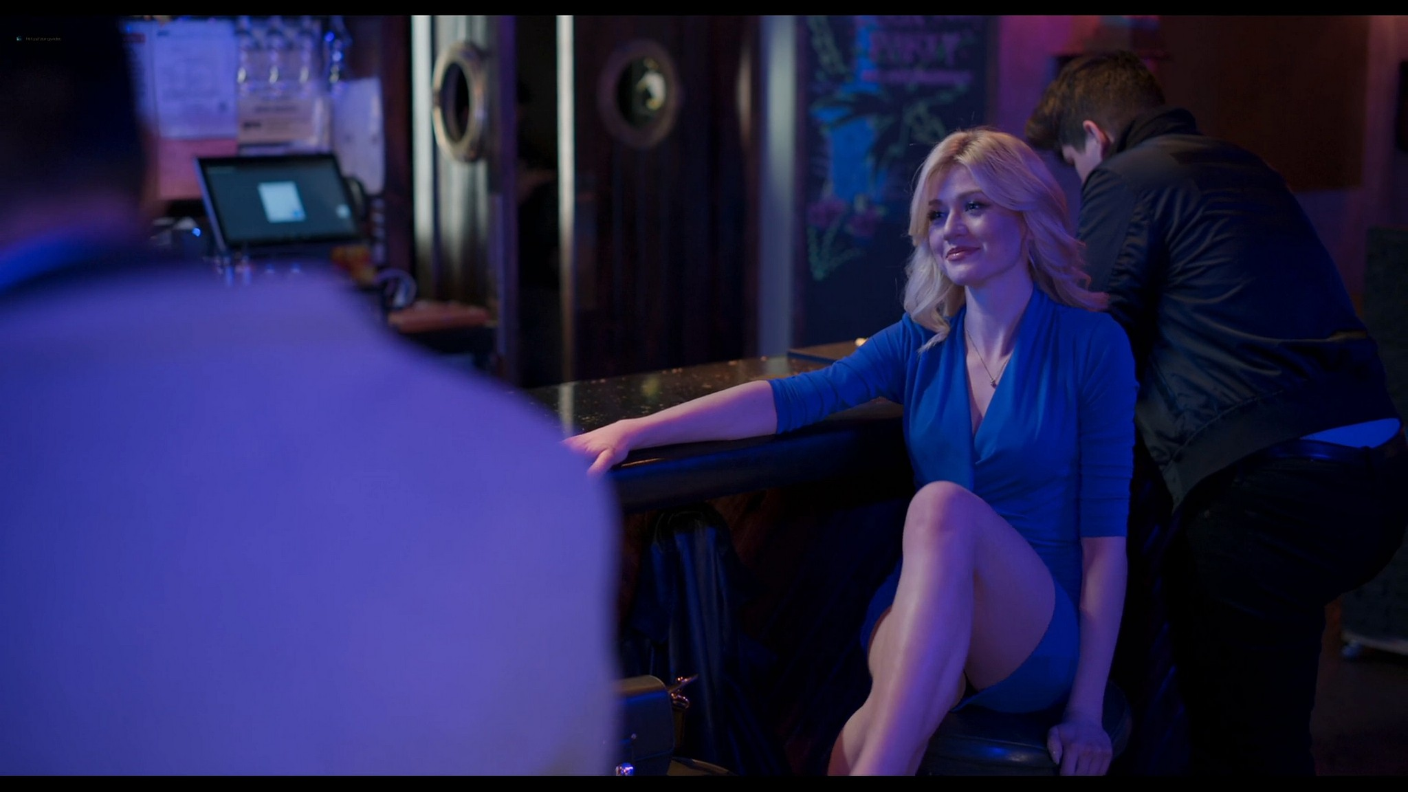Victoria Justice hot Katherine McNamara sexy Trust 2021 1080p Web 3