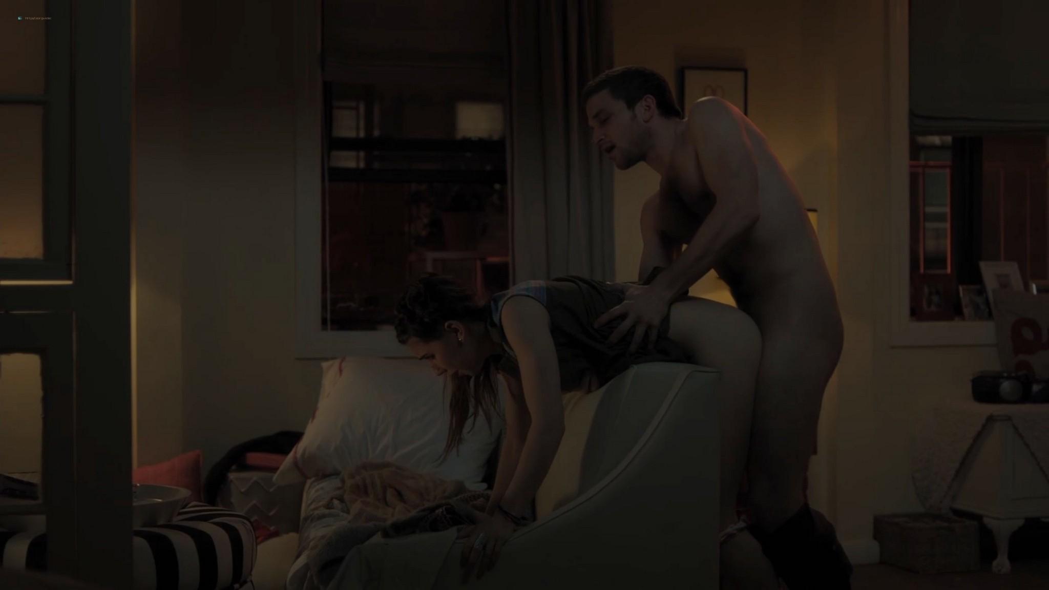 Allison Williams hot sex Lena Dunham naked Zosia Mamet sex doggy style Girls 2012 s3e6 12 1080p Web 5